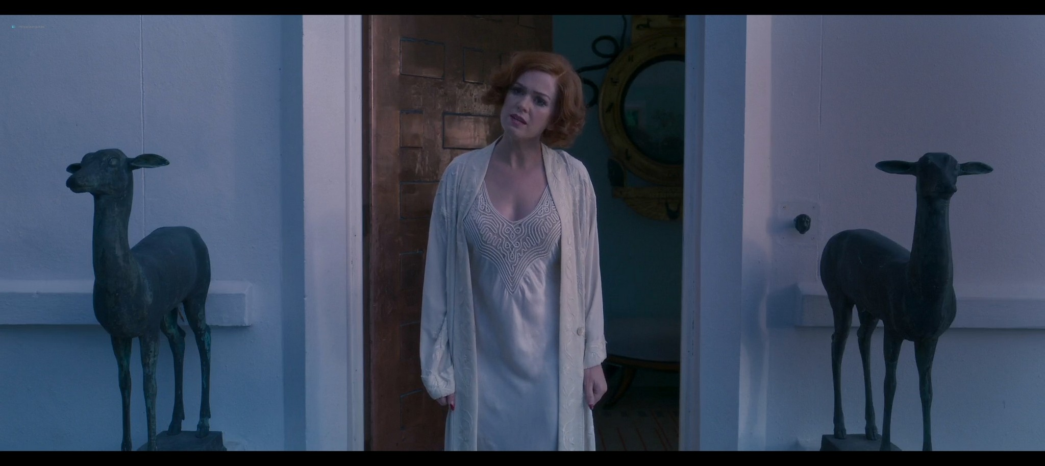 Isla Fisher hot and sexy Blithe Spirit 2020 1080p Web 7