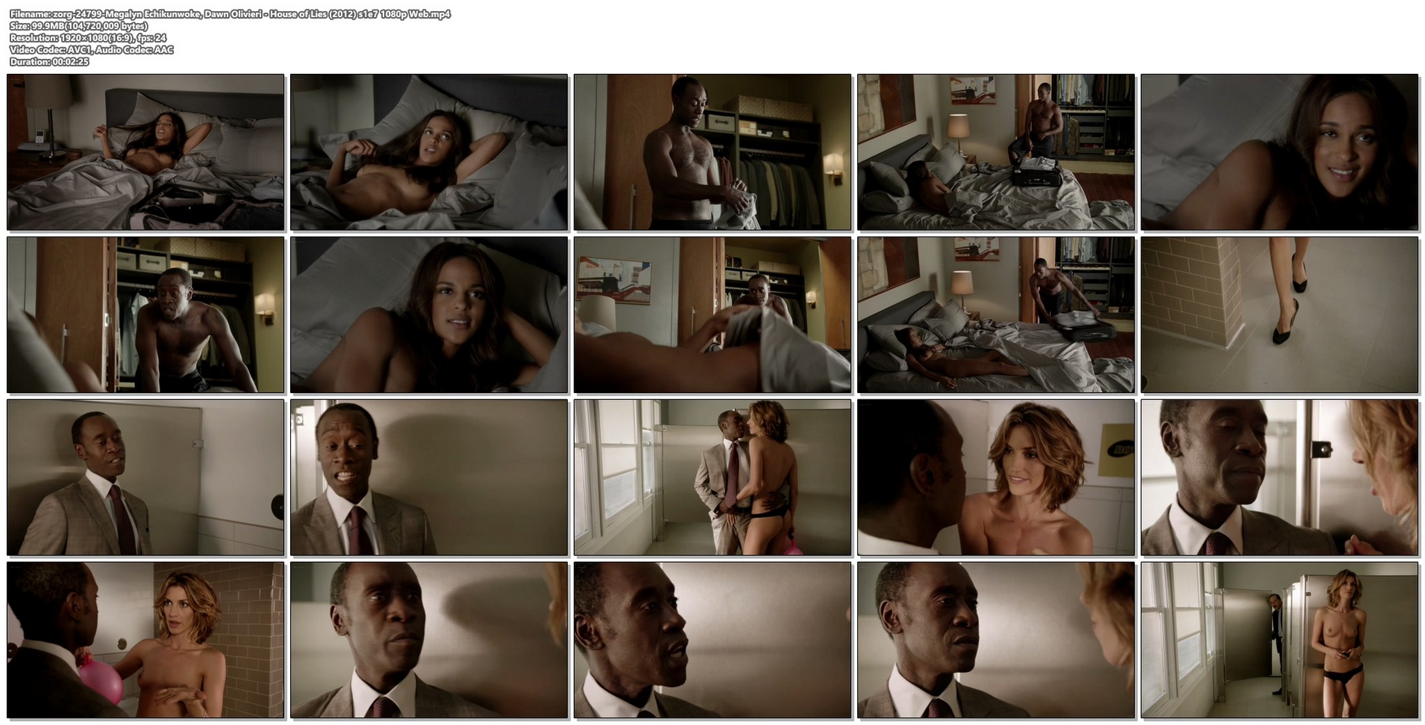 Megalyn Echikunwoke nude topless and Dawn Olivieri nude too House of Lies 2012 s1e7 1080p Web 11