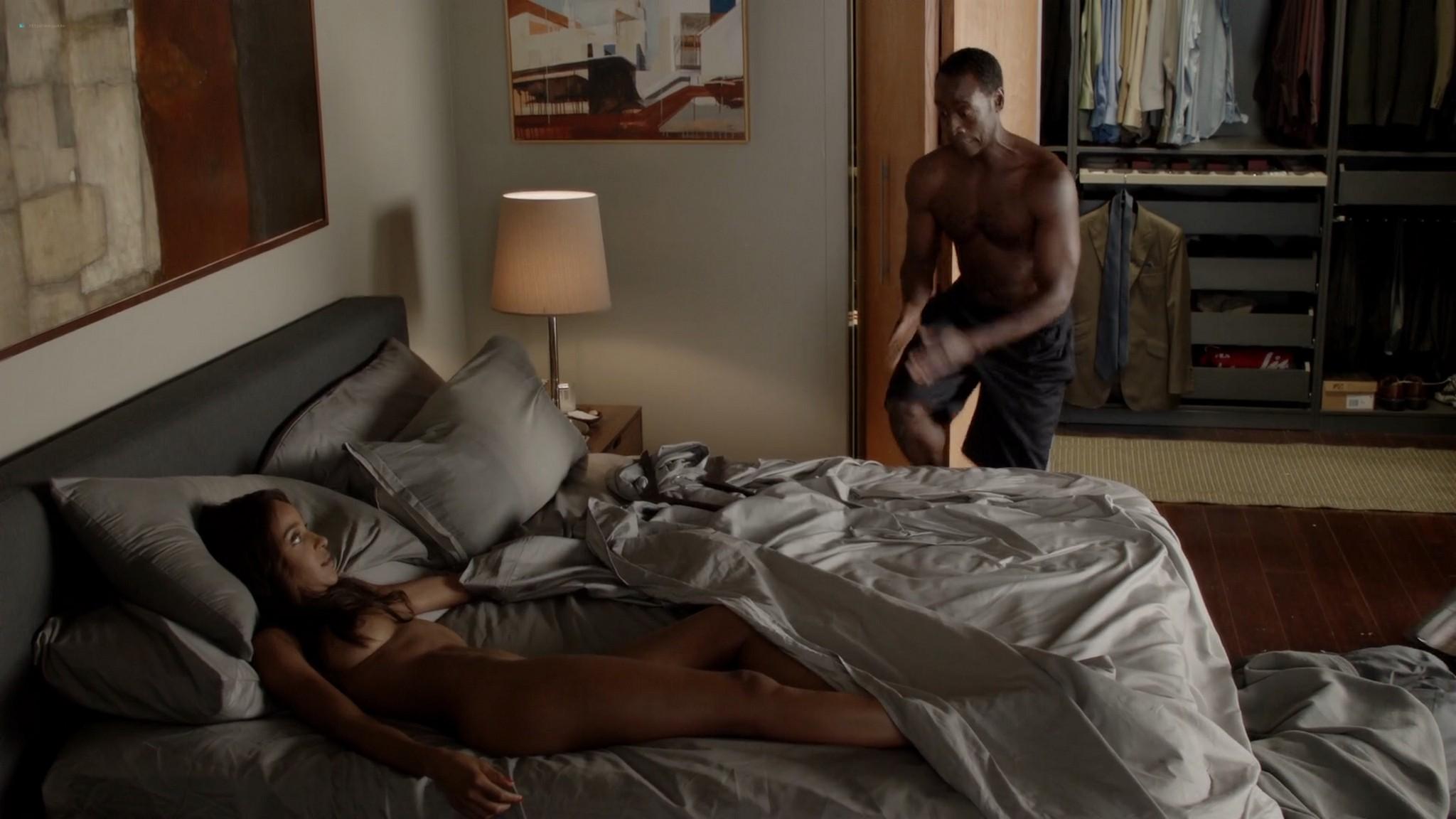 Megalyn Echikunwoke nude topless and Dawn Olivieri nude too House of Lies 2012 s1e7 1080p Web 5