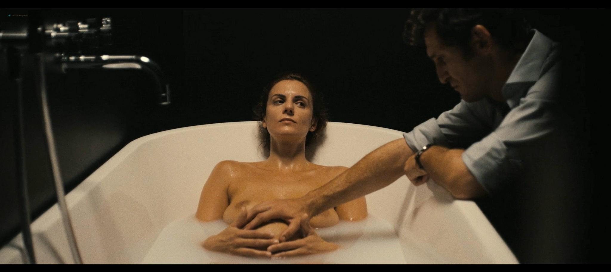 Melina Matthews nude topless in a tub Black Beach 2020 1080p 06