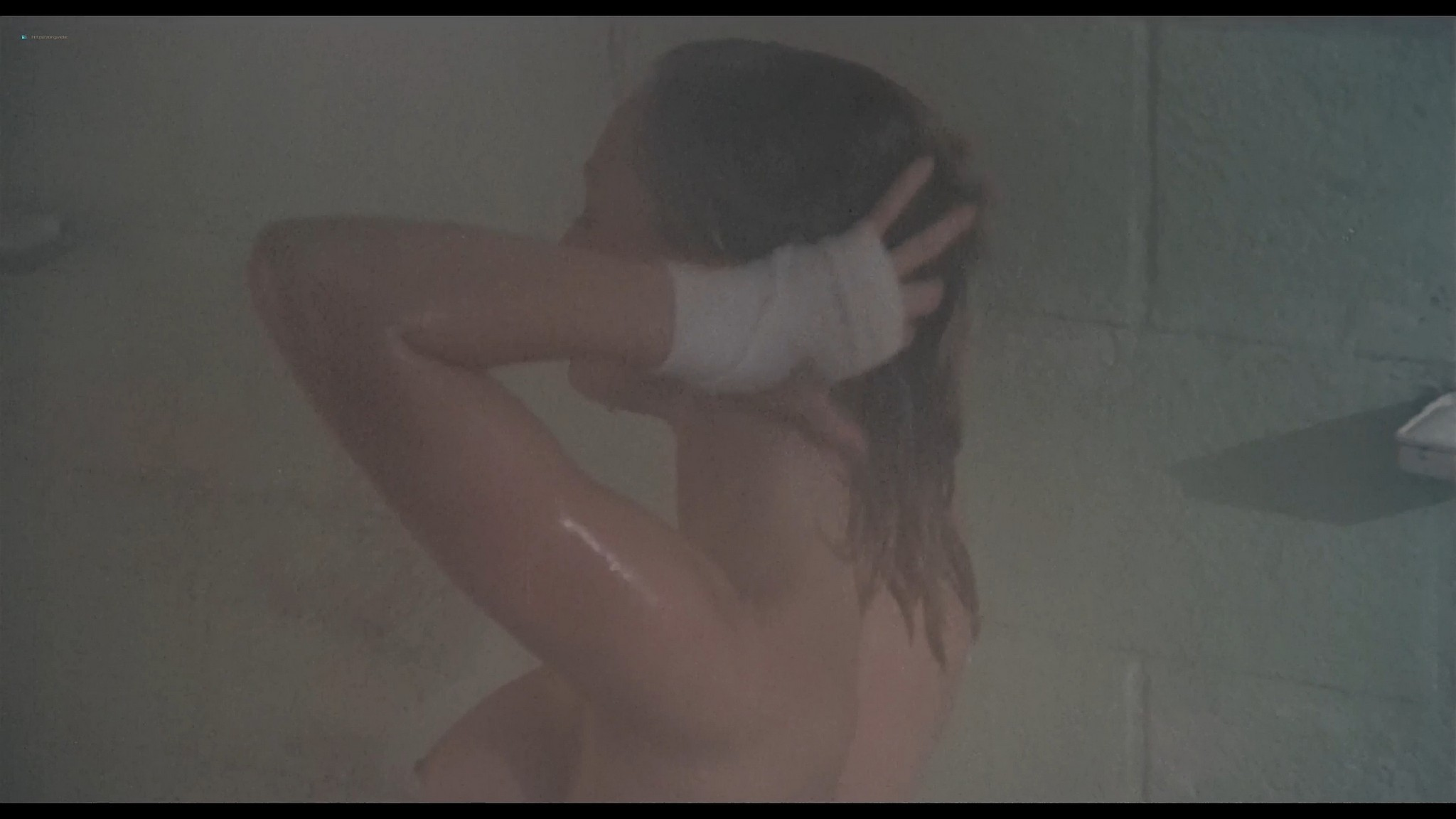 Shari Shattuck nude in shower Lisa London and others nude The Naked Cage 1986 HD 1080p BluRay 13