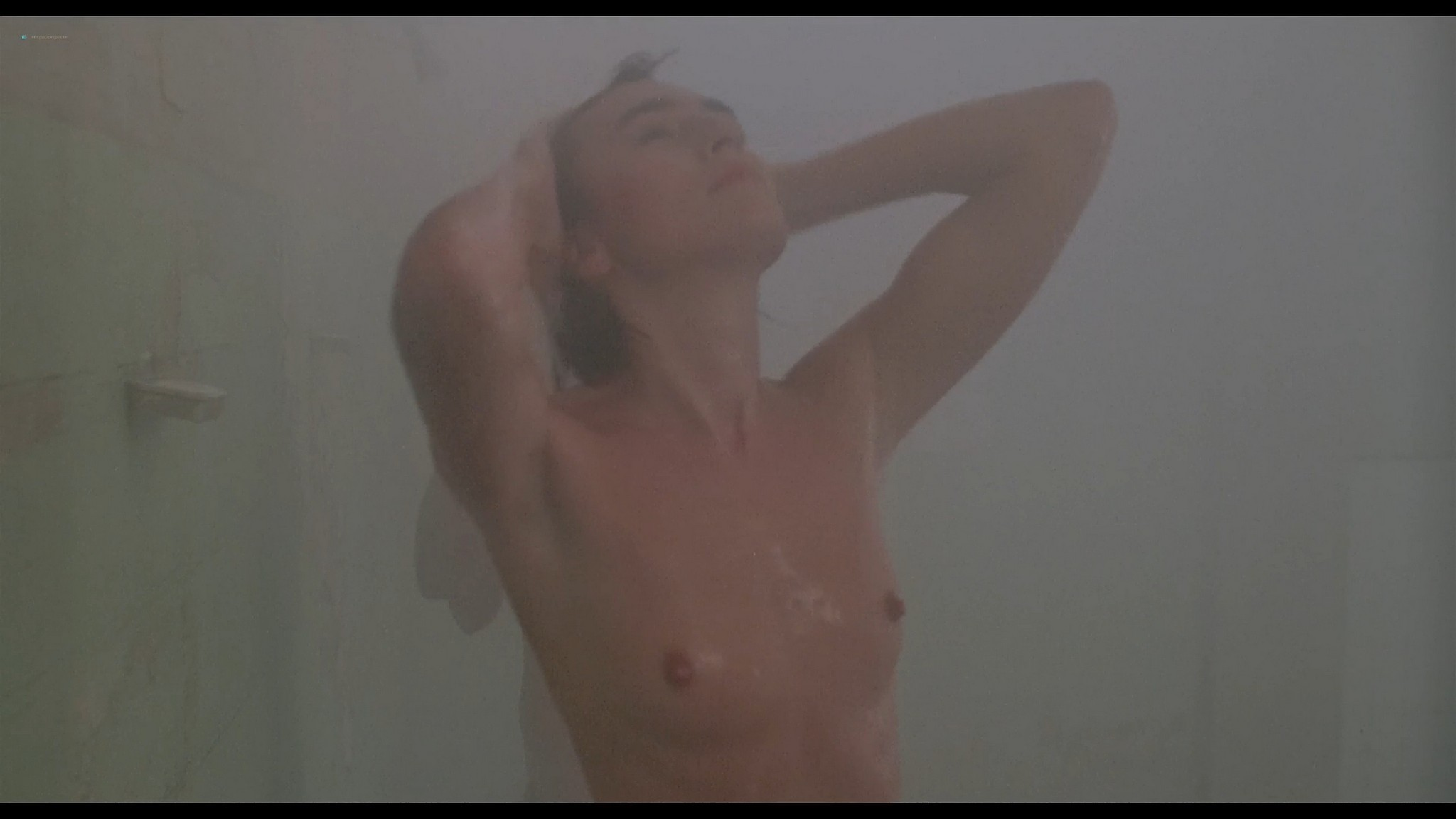 Shari Shattuck nude in shower Lisa London and others nude The Naked Cage 1986 HD 1080p BluRay 16