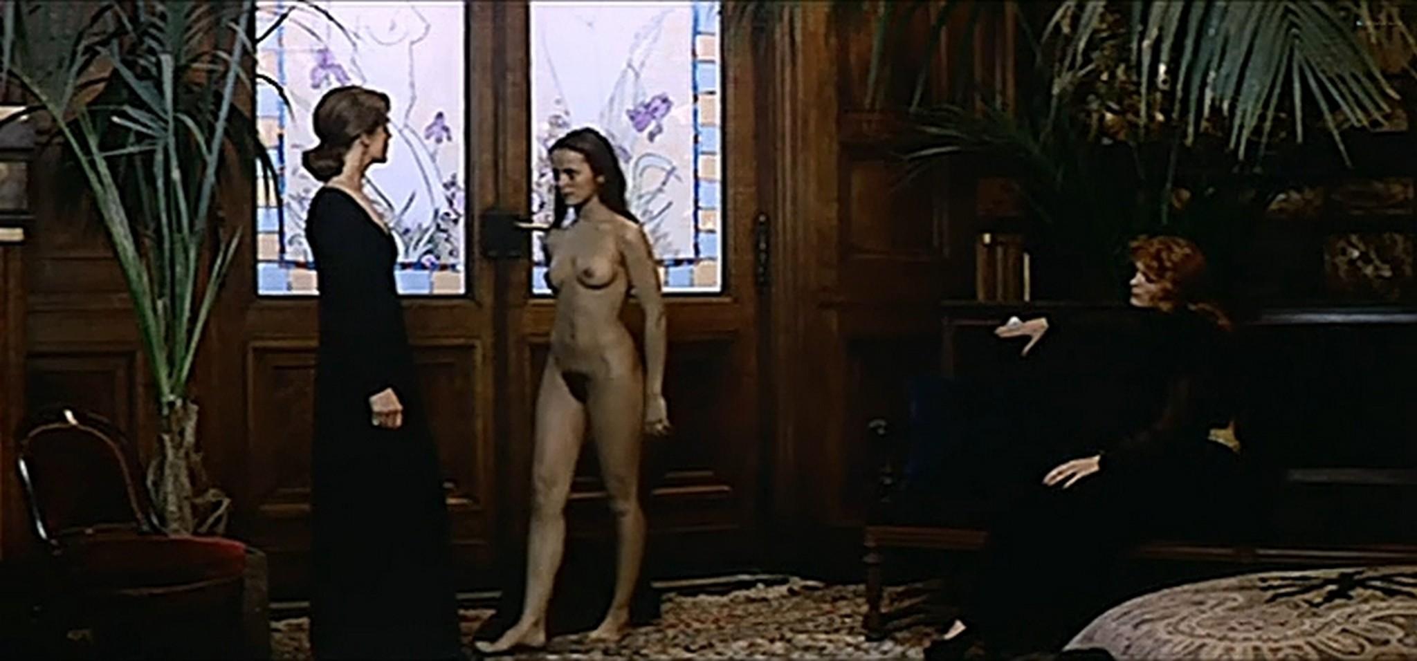 Anicee Alvina nude full frontal Sylvia Kristel and others nude Le jeu avec le feu FR 1975 DVDrip 5