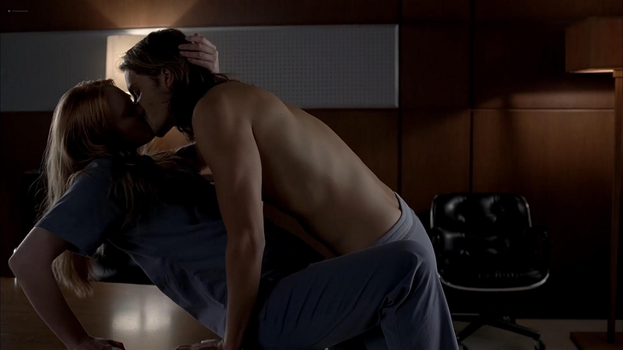 Anna Paquin nude topless and Deborah Ann Woll hot sex – True Blood 2013 s6e7 HD 1080p 10