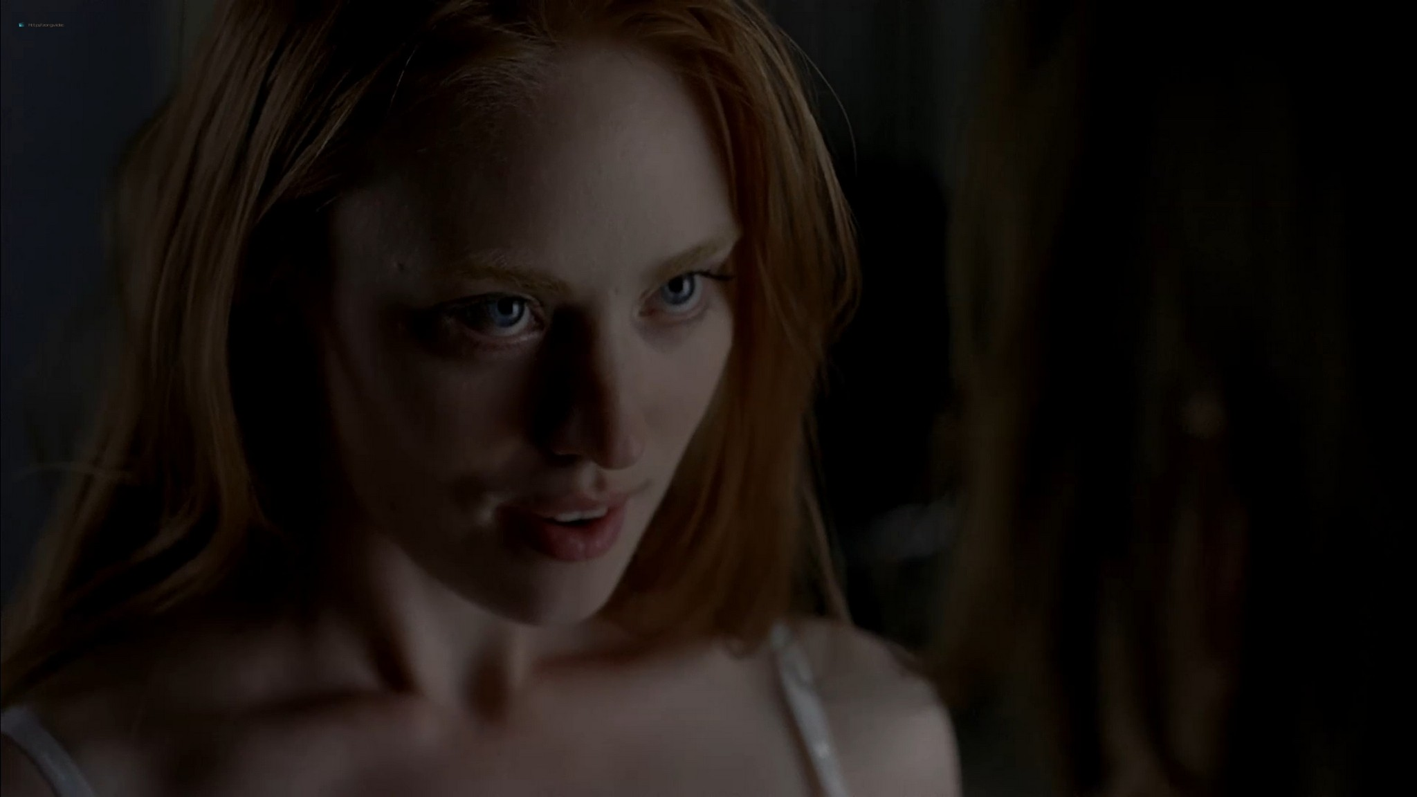 Anna Paquin nude topless and Deborah Ann Woll hot sex – True Blood 2013 s6e7 HD 1080p 12
