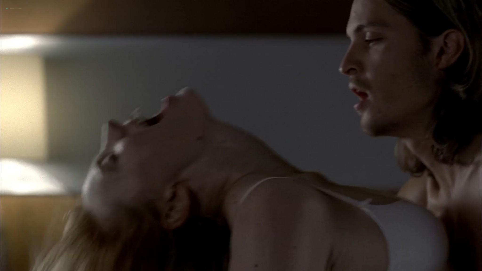 Anna Paquin nude topless and Deborah Ann Woll hot sex – True Blood 2013 s6e7 HD 1080p 15 1