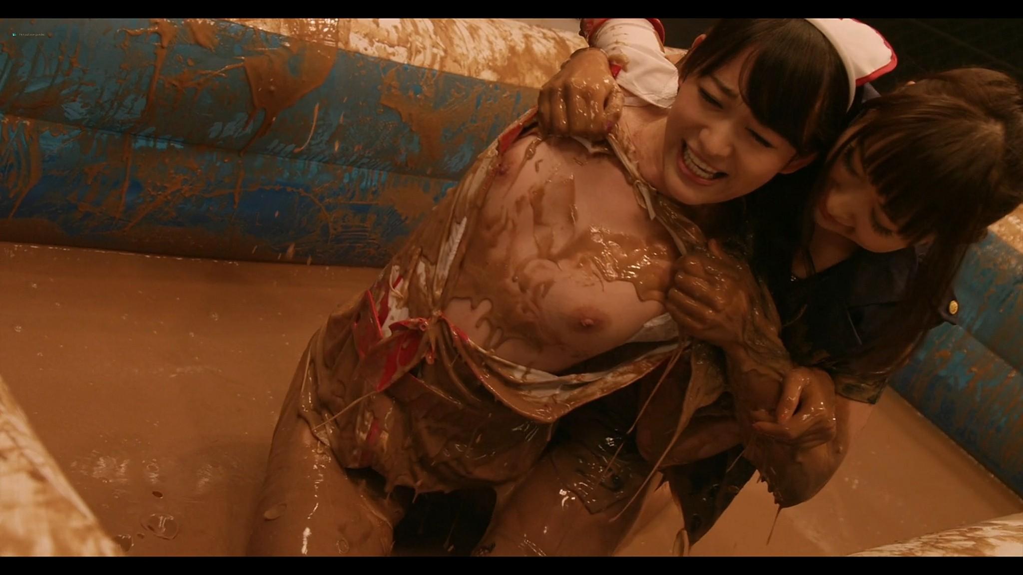 Asami Tada nude full frontal Yuria Haga Haruka Ayase nude too Girls Blood JP 2014 1080p BluRay 4