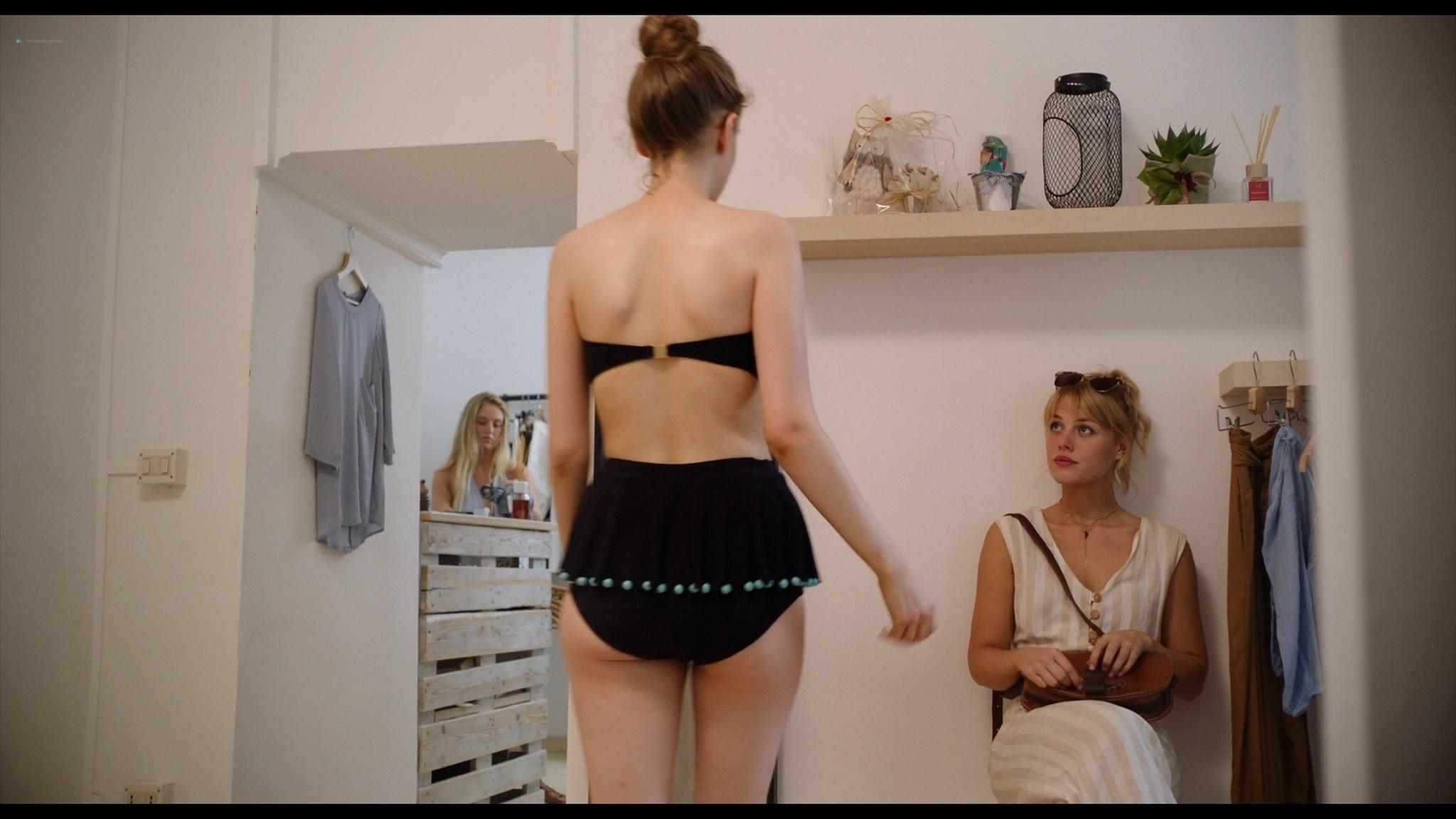 Bianca Cedrone sexy Hannah van der Westhuysen Emma Curtis hot A Little Italian Vacation 2021 1080p Web 2
