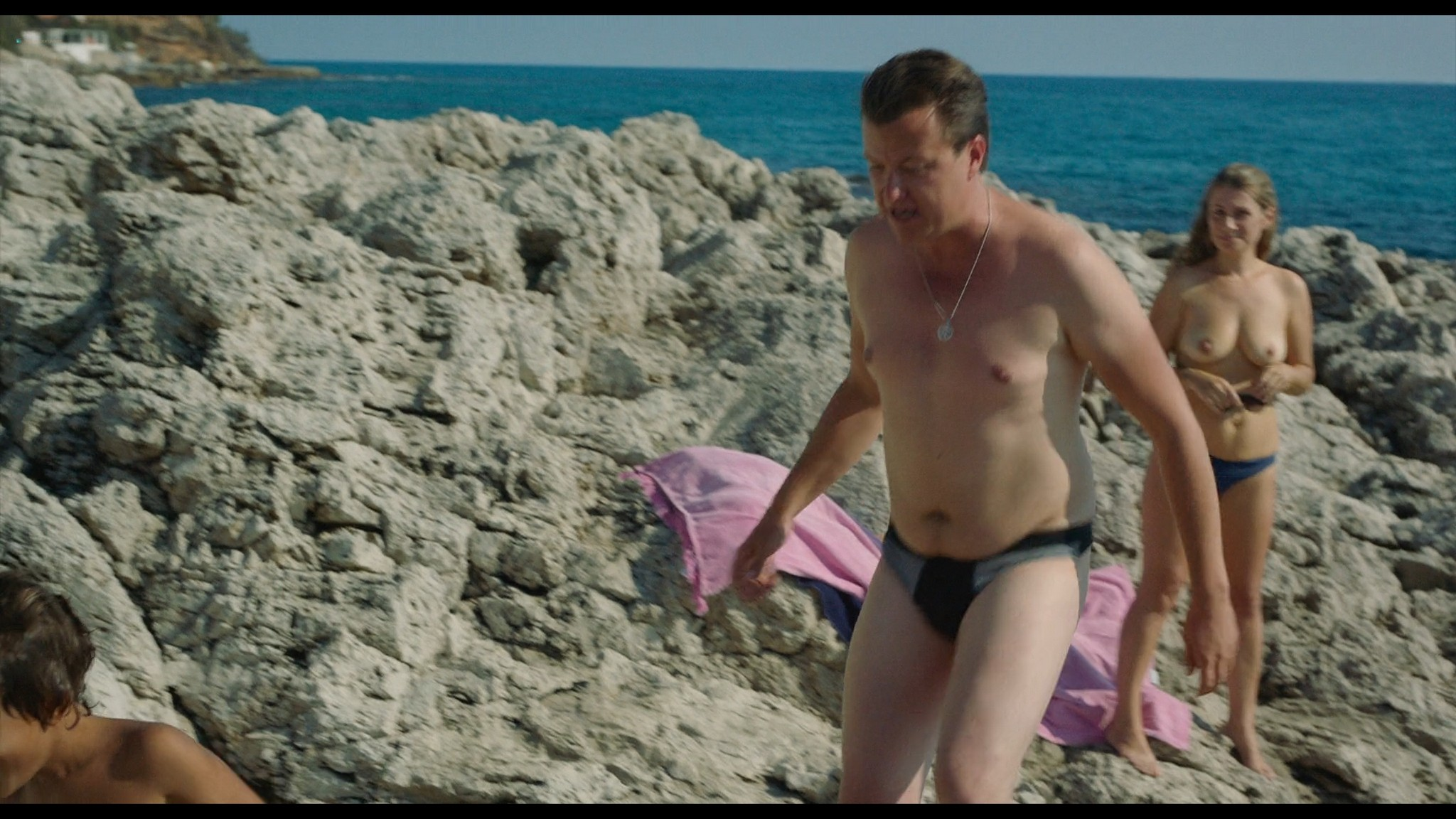 Bianca Cedrone sexy Hannah van der Westhuysen Emma Curtis hot A Little Italian Vacation 2021 1080p Web 4