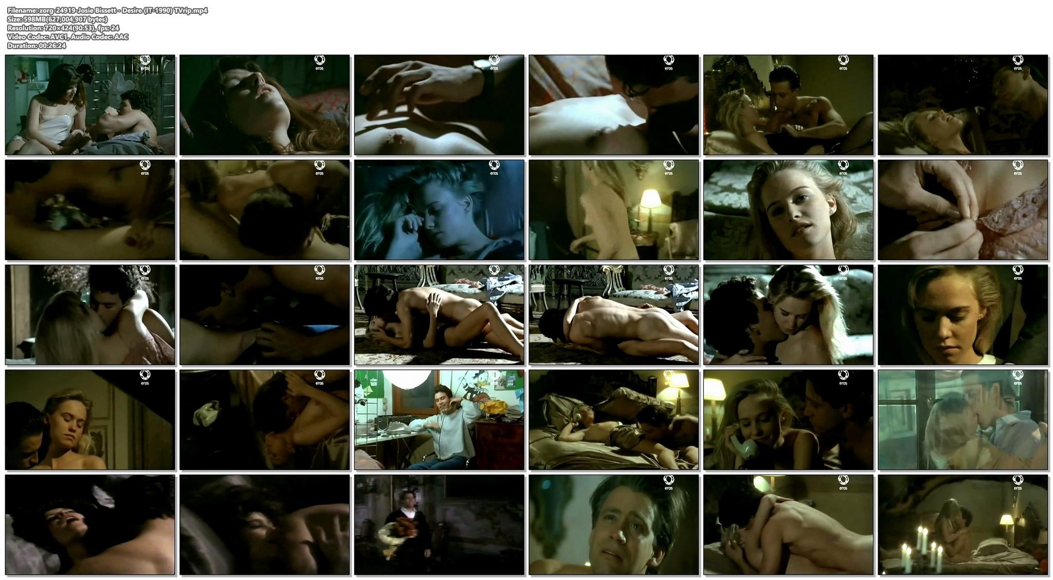 Josie Bissett nude and lot of hot sex Desire IT 1990 TVrip 20