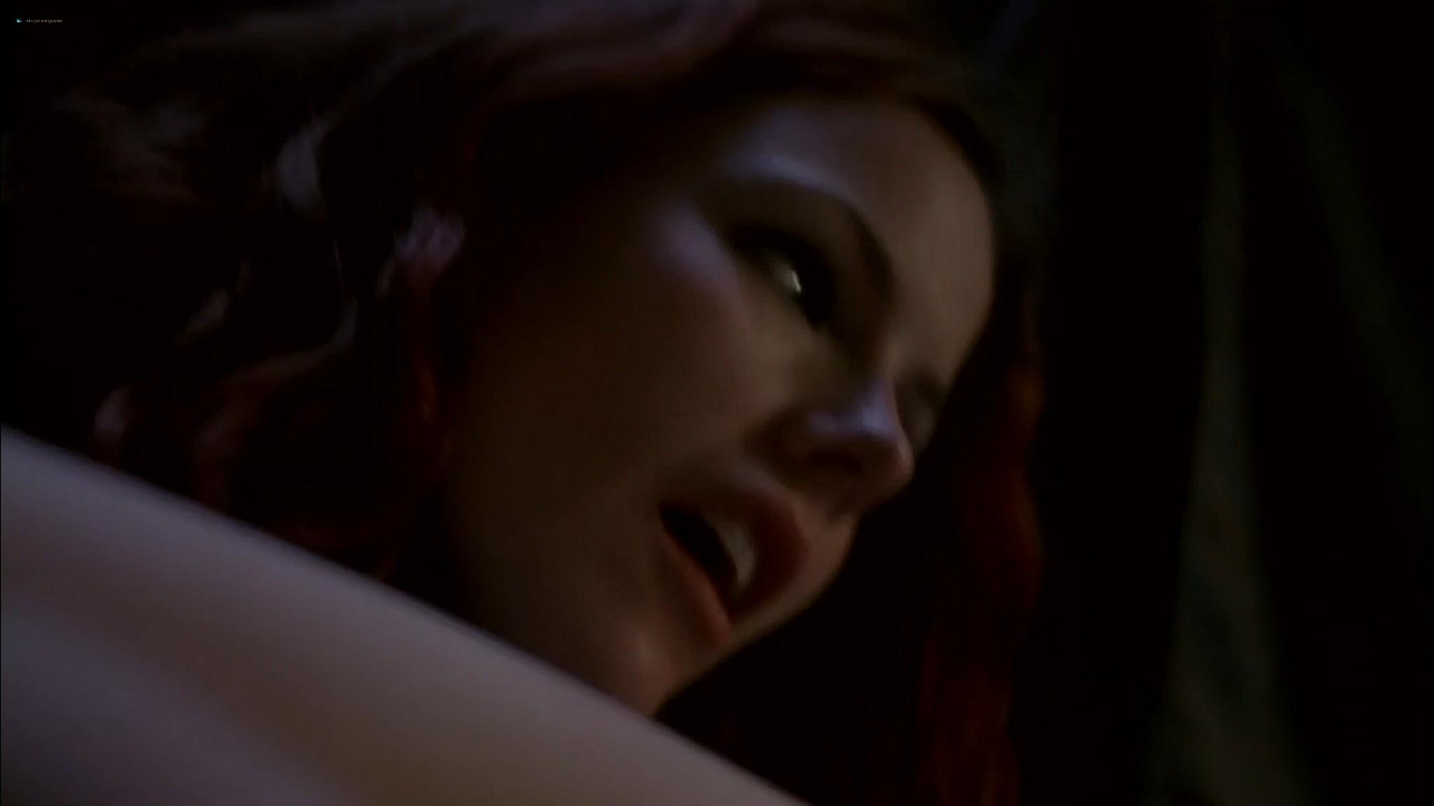 Kathleen Robertson sex threesome Maya Stange nude XX XY 2002 720p Web 10