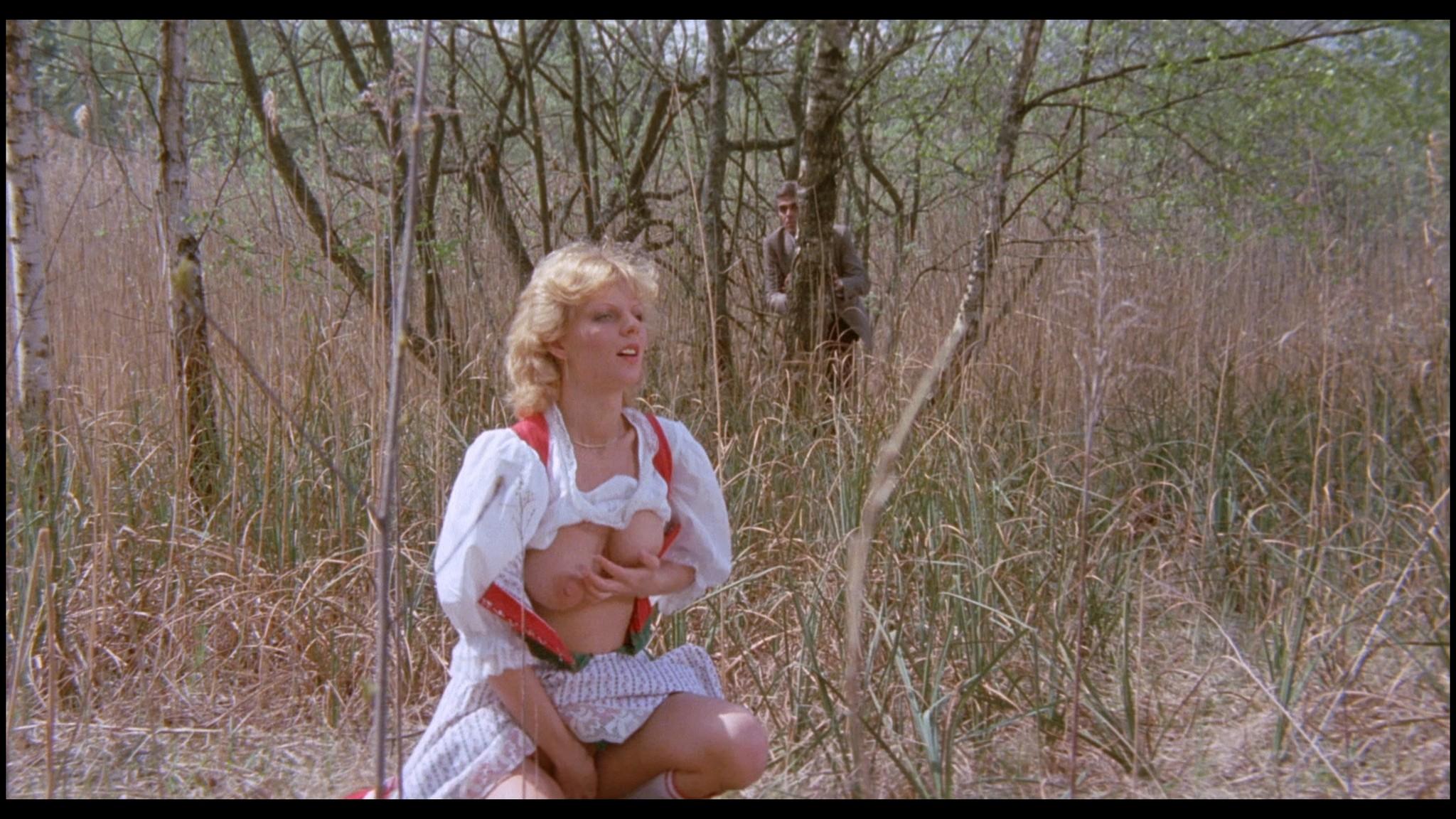 Marianne Aubert Michaela Larsen etc nude explicit sex Sechs Schwedinnen auf der Alm 1983 1080p BluRay 20