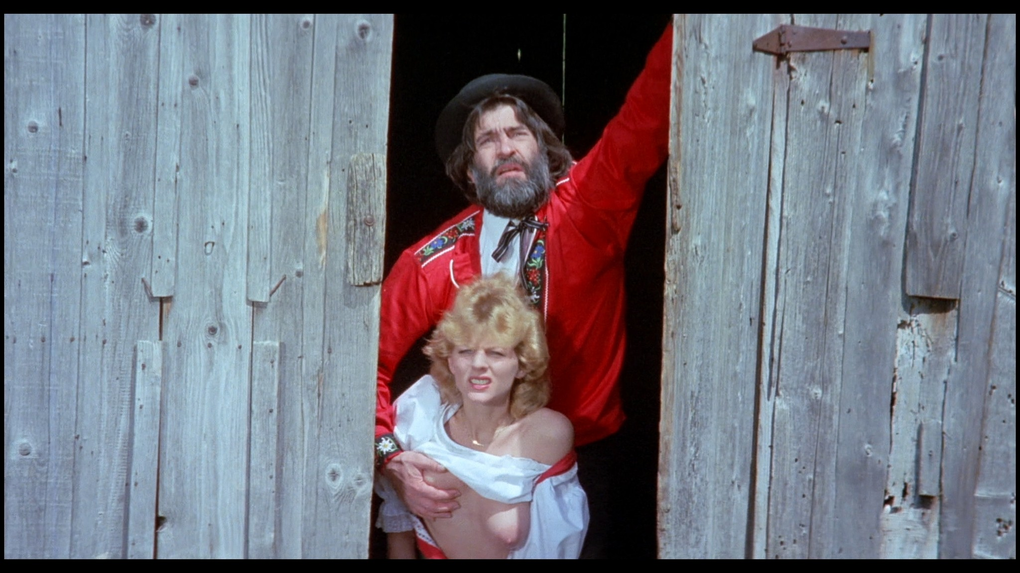 Marianne Aubert Michaela Larsen etc nude explicit sex Sechs Schwedinnen auf der Alm 1983 1080p BluRay 25