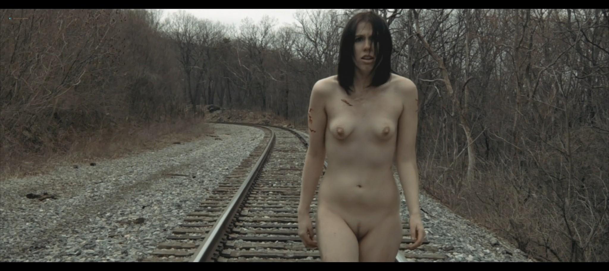 Maura Housley nude full frontal Mel Heflin nude bush too Dead Womans Hollow 2013 1080p Web 4
