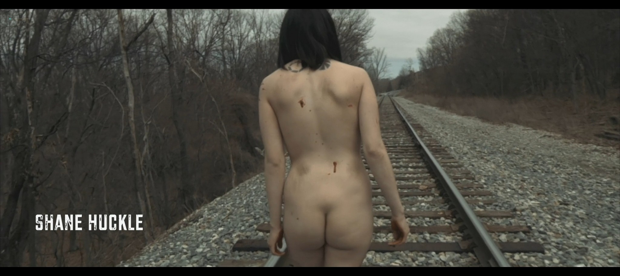 Maura Housley nude full frontal Mel Heflin nude bush too Dead Womans Hollow 2013 1080p Web 5