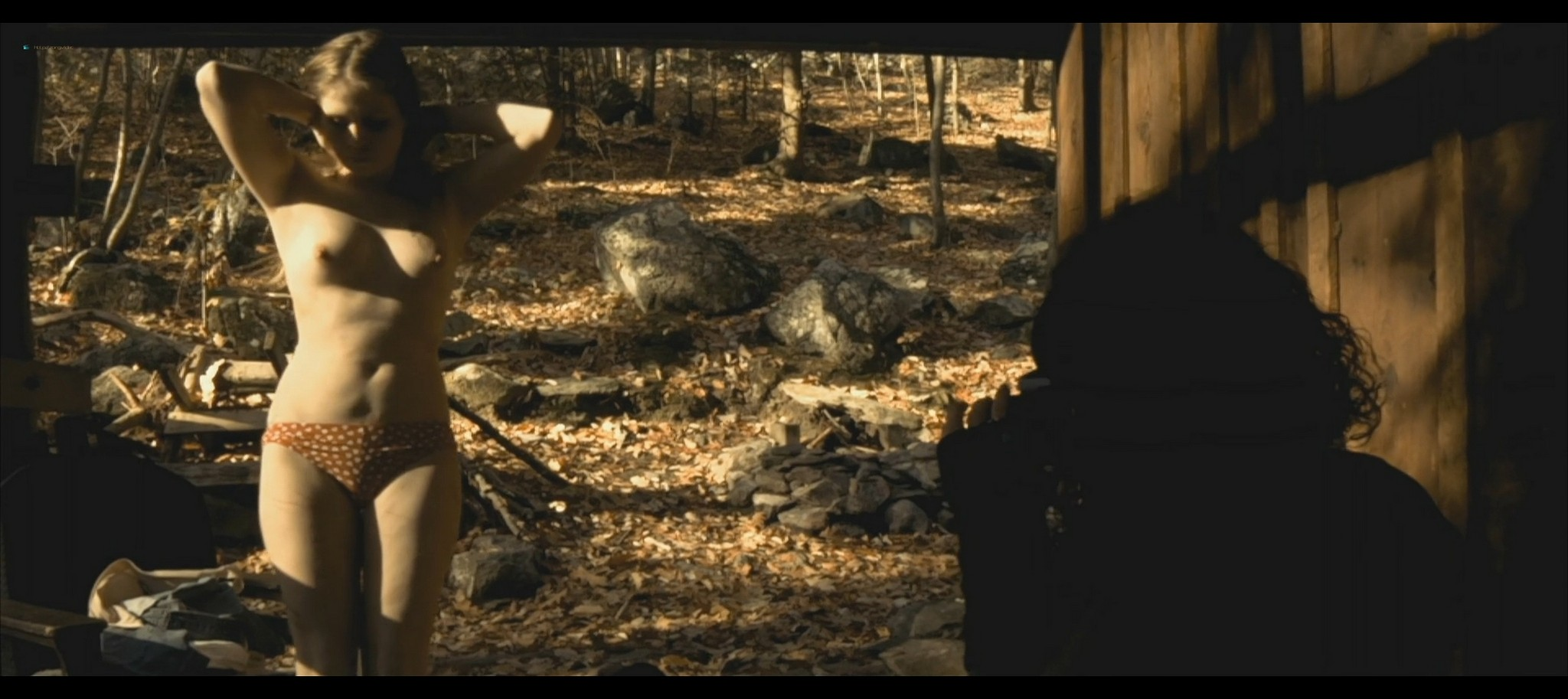 Maura Housley nude full frontal Mel Heflin nude bush too Dead Womans Hollow 2013 1080p Web 8