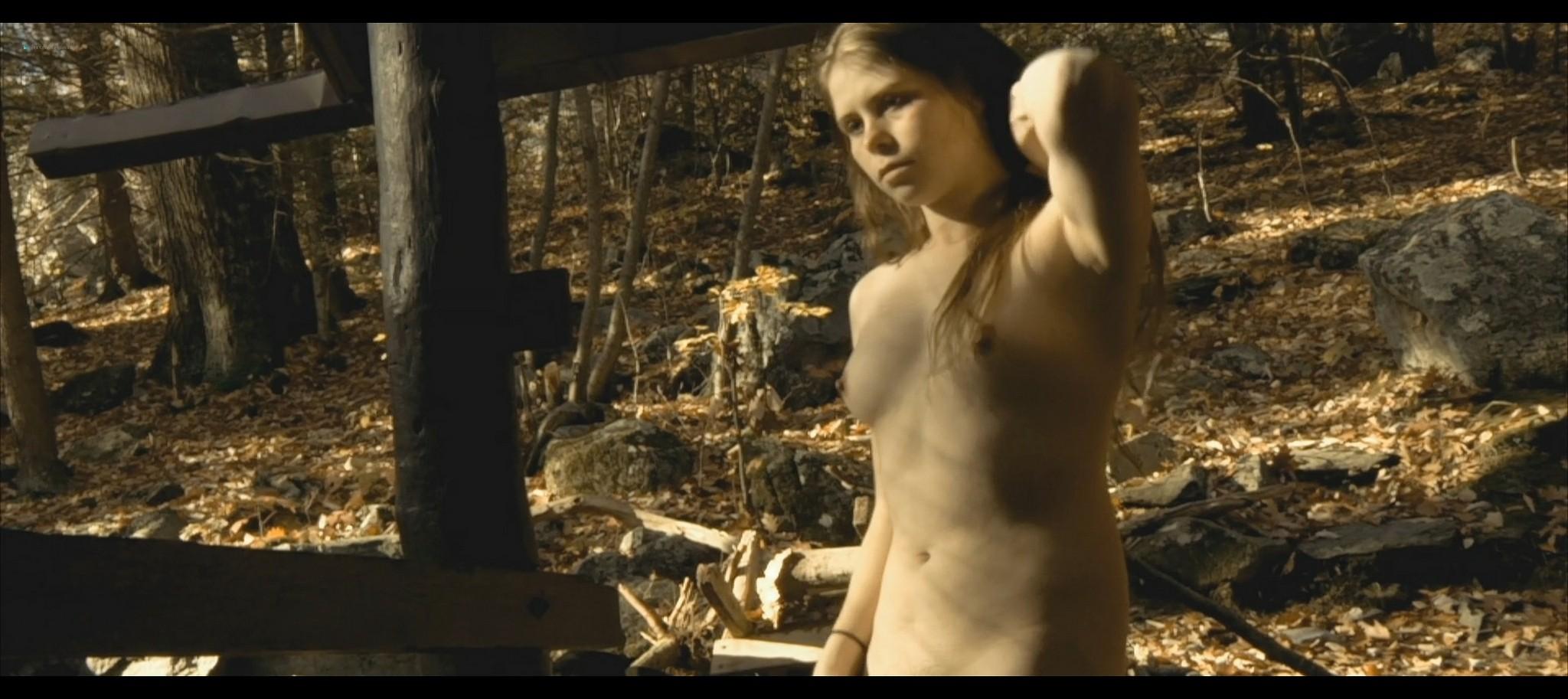 Maura Housley nude full frontal Mel Heflin nude bush too Dead Womans Hollow 2013 1080p Web 9