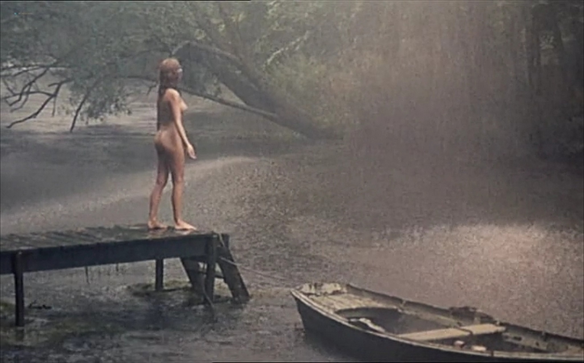 Muriel Catala nude topless and butt and Claire Vernet nude skinny dipping Faustine et le bel ete 1972 9