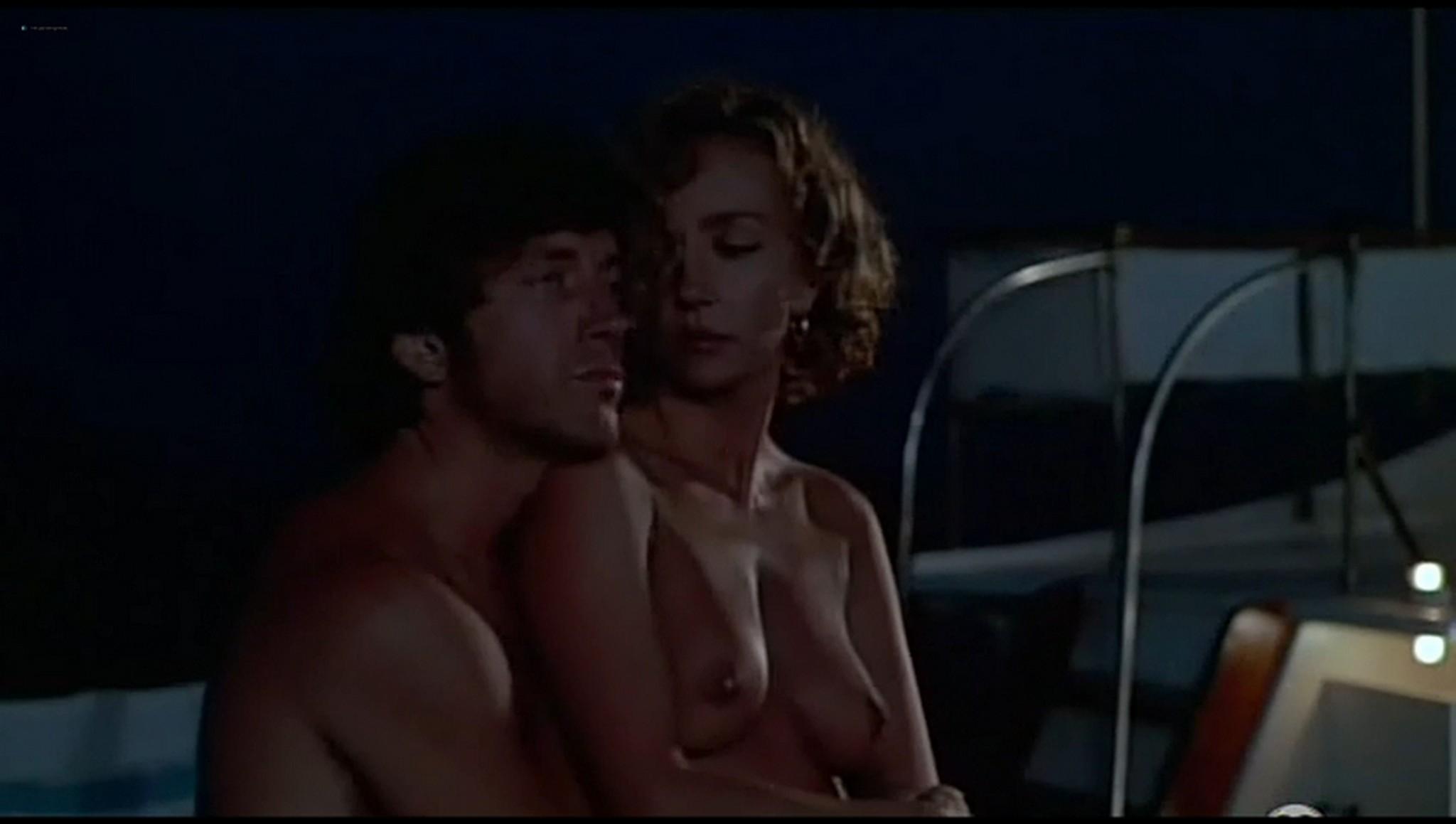 Valerie Kaprisky nude full frontal Caroline Cellier and others nude L annee des meduses 1984 16