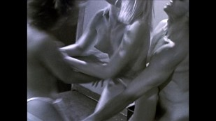 Josie Bissett nude sex threesome with Angie Brown (?) - All American Murder (1992) 1080p Web