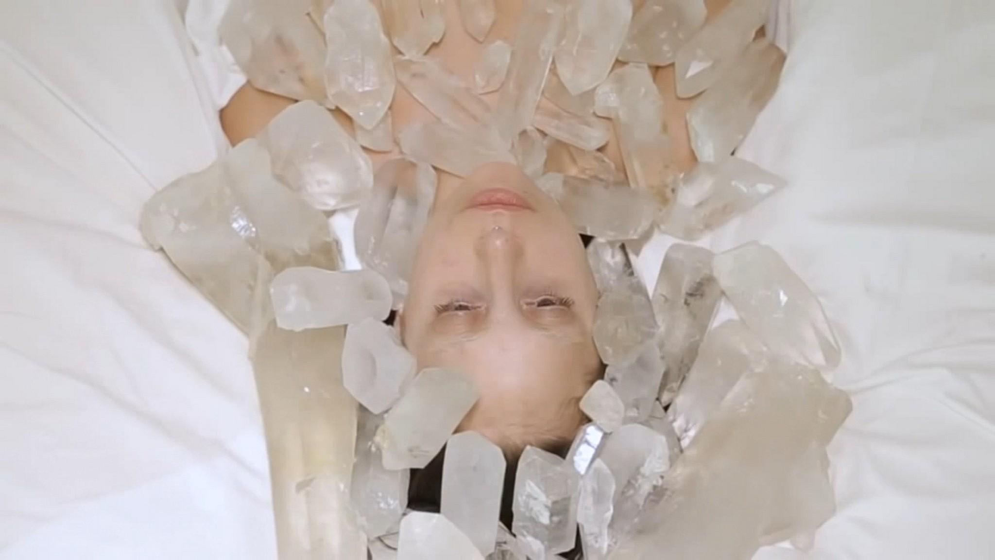 Lady Gaga nude full frontal Abramovic Method 2013 1080p 9