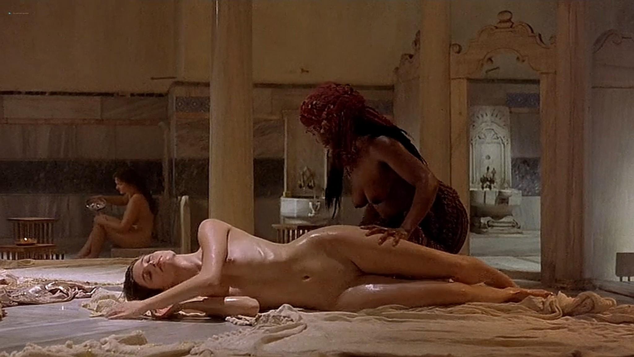 Marie Gillain nude bush Gaia Narcisi nude too Harem Suare 1999 DVDrip 10