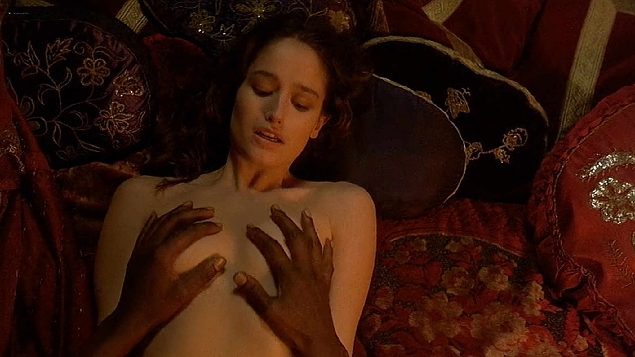 Marie Gillain nude bush Gaia Narcisi nude too Harem Suare 1999 DVDrip 14