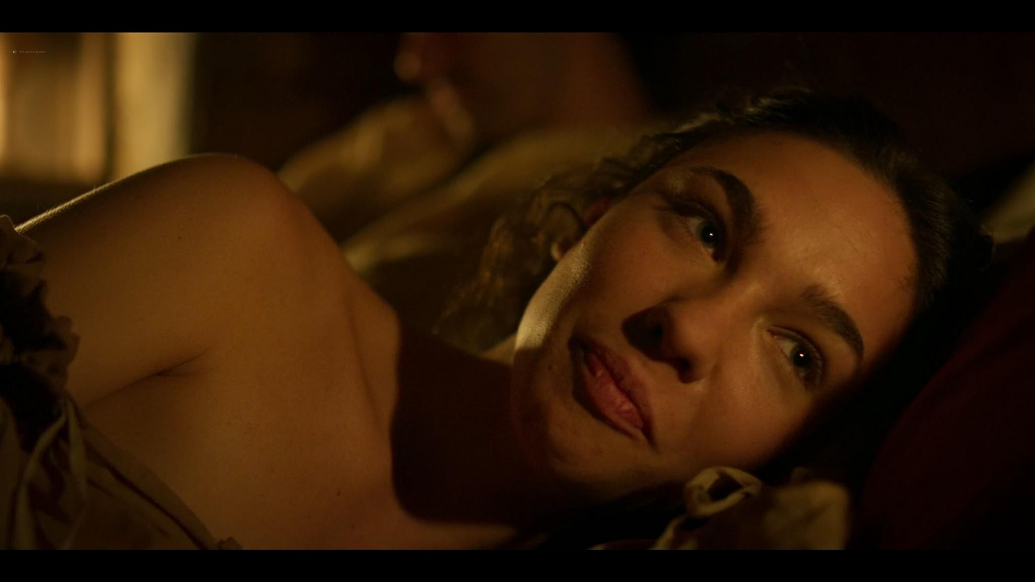 Matilda De Angelis nude full frontal Leonardo 2021 S1 1080p Web 10