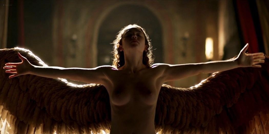 Matilda De Angelis nude full frontal Leonardo 2021 S1 1080p Web 12