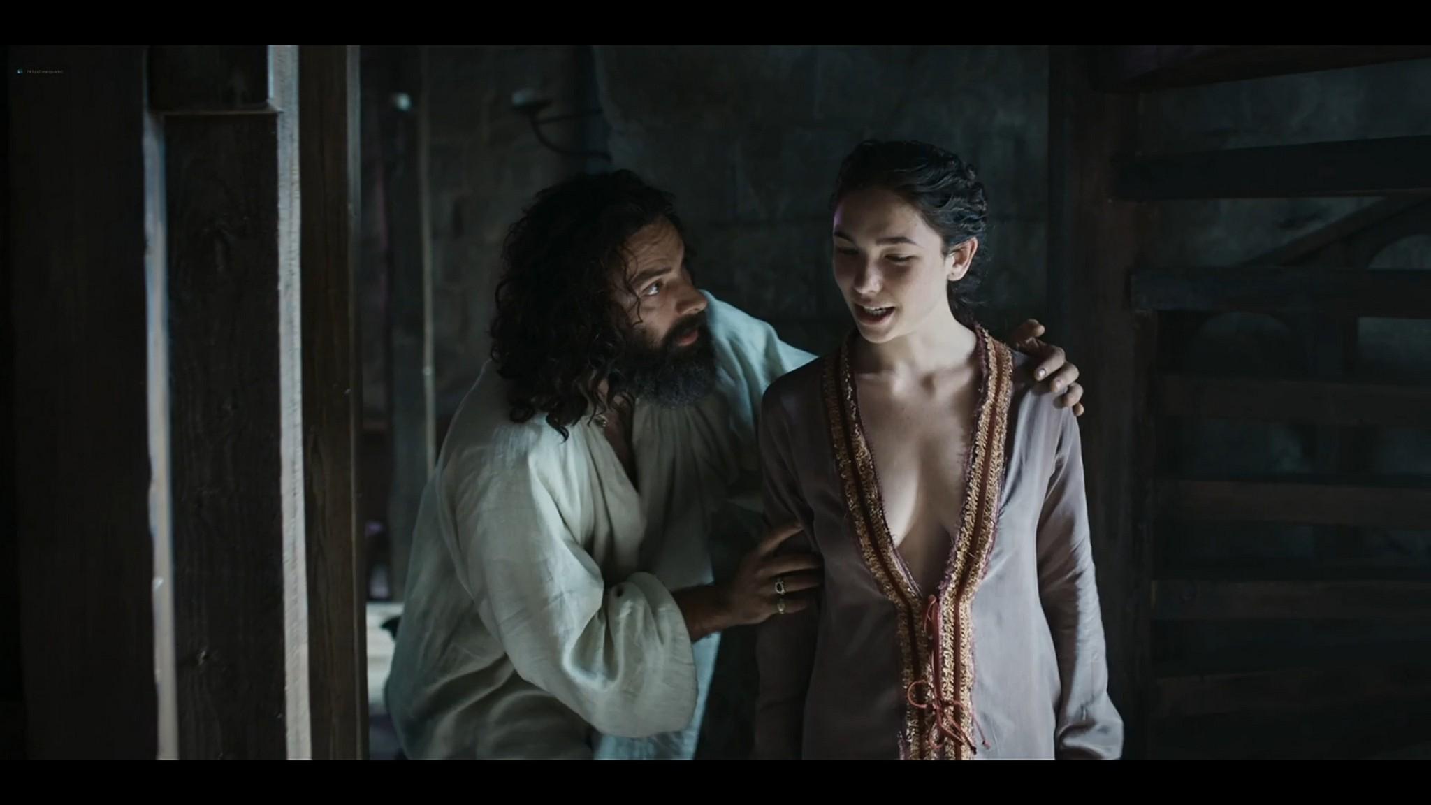 Matilda De Angelis nude full frontal Leonardo 2021 S1 1080p Web 14