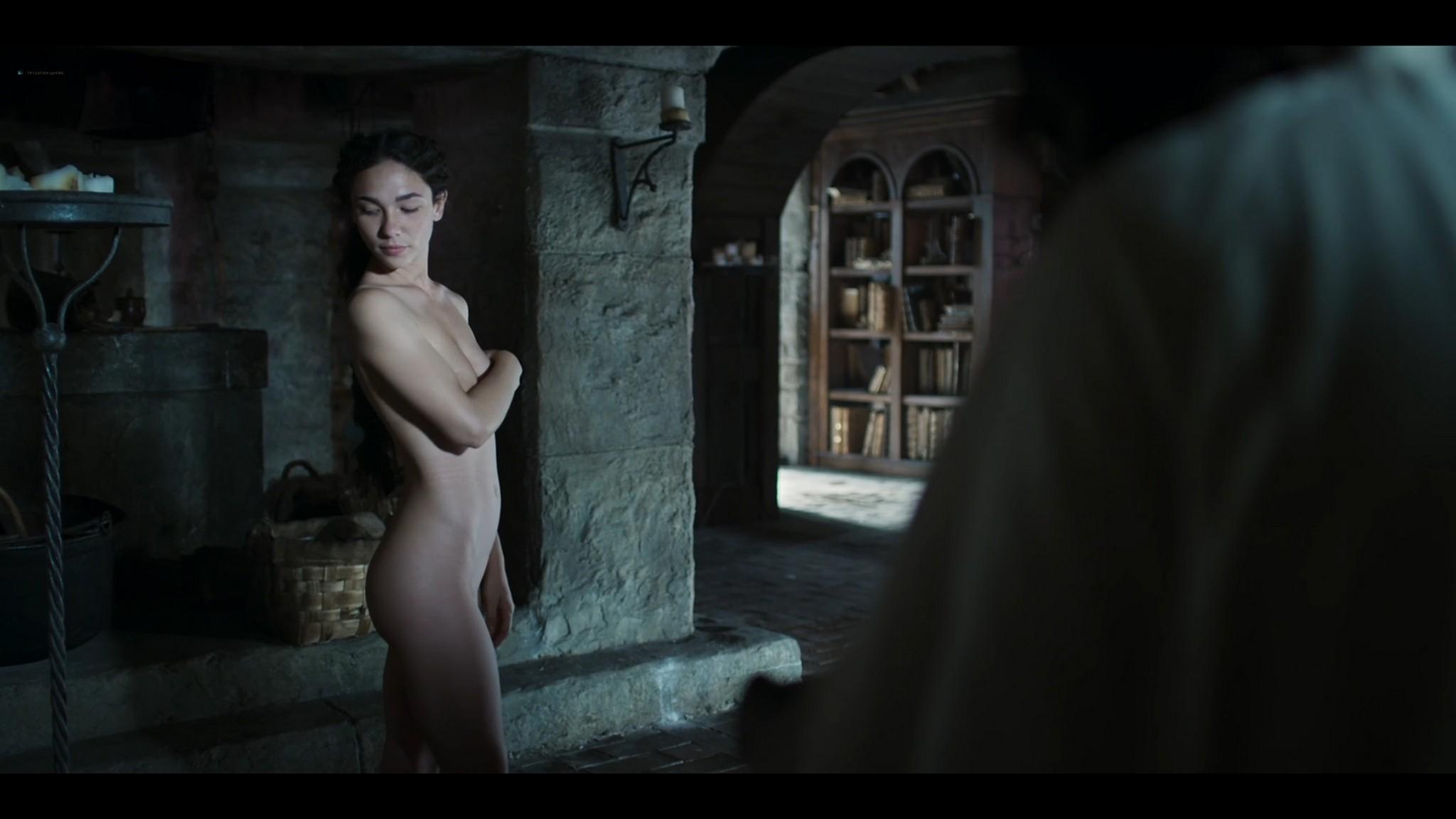 Matilda De Angelis nude full frontal Leonardo 2021 S1 1080p Web 15