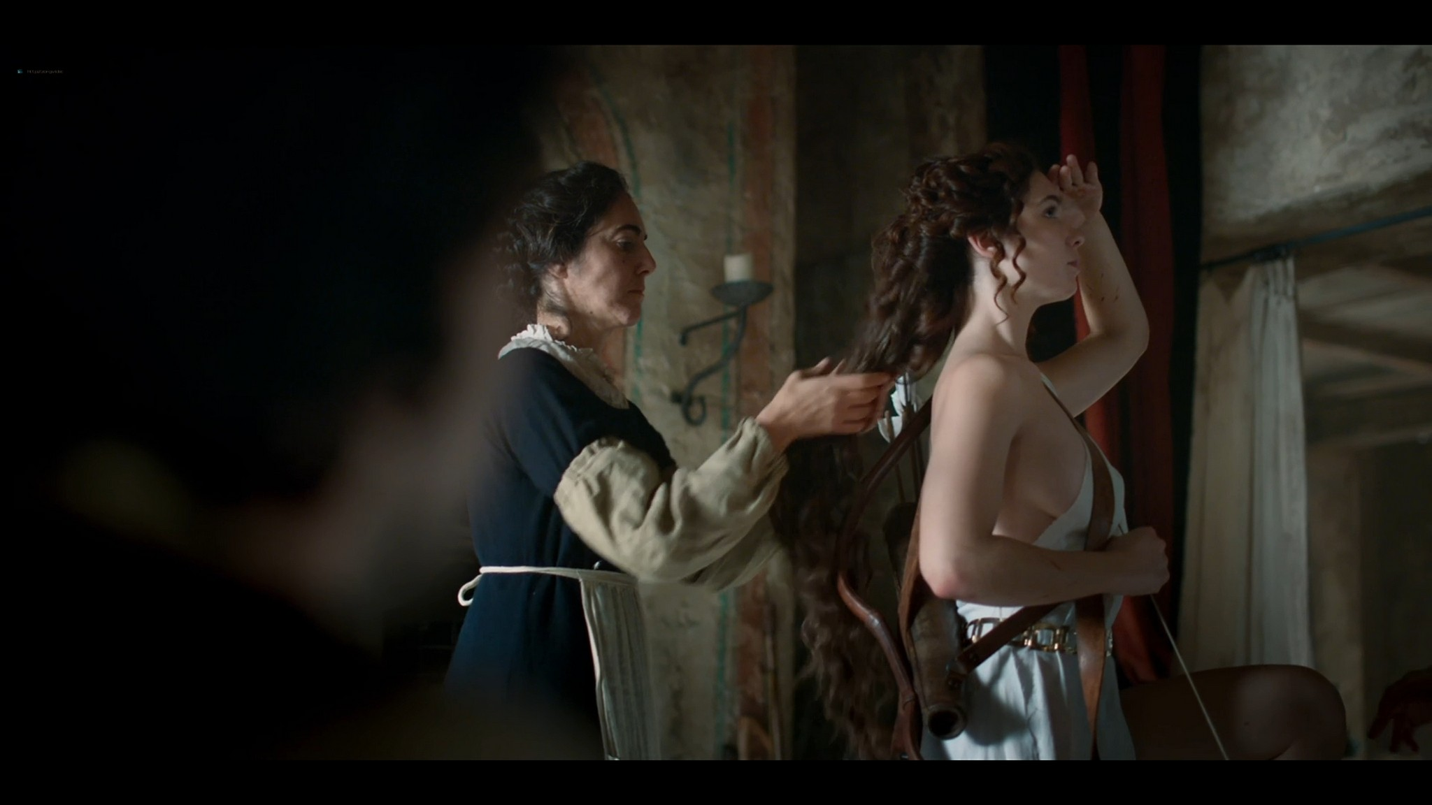 Matilda De Angelis nude full frontal Leonardo 2021 S1 1080p Web 2