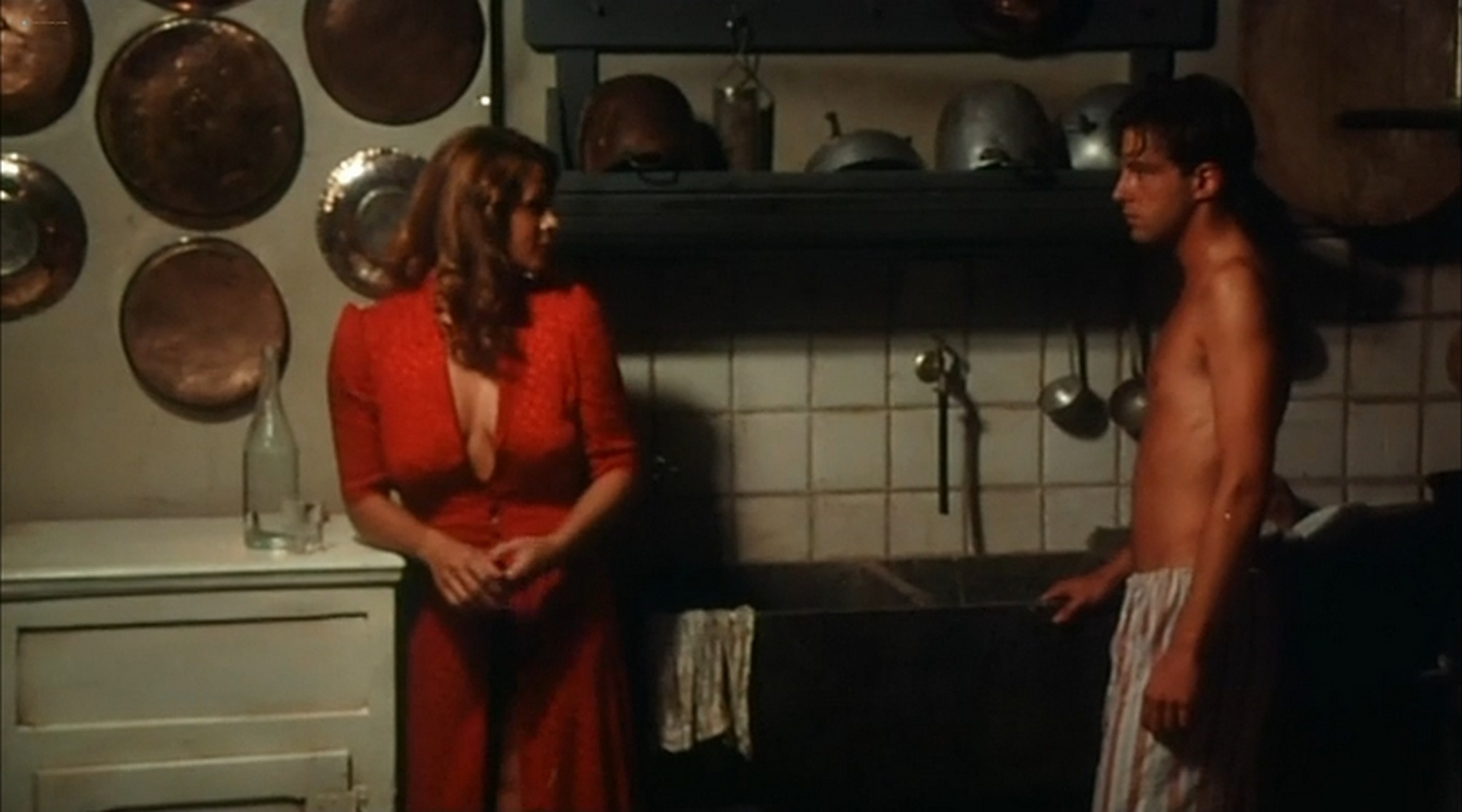 Ornella Muti nude and Senta Berger nude sex Nest of Vipers 1978 2