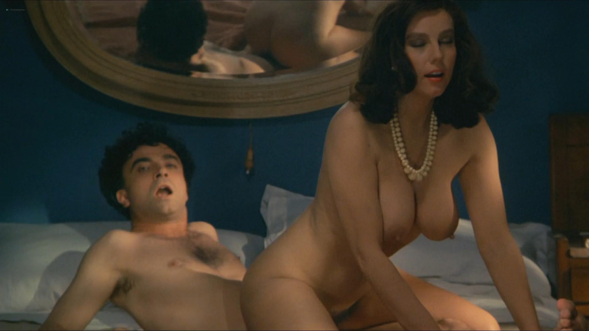 Stefania Sandrelli nude topless bush explicit labia in Tinto Brass style The Key 1983 HD 1080p BluRay 16
