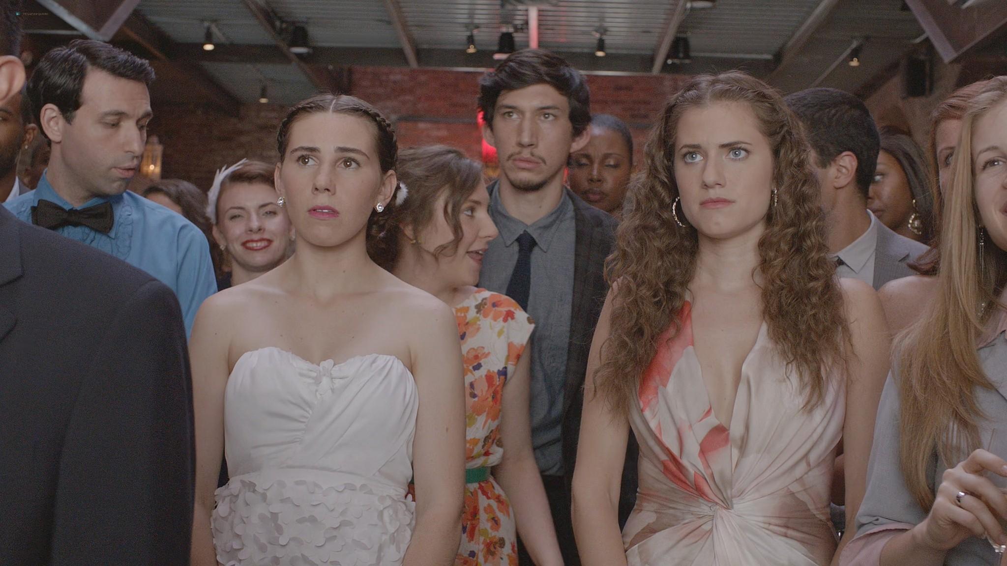 Allison Williams hot Lena Dunham nude Zosia Mamet Jemima Kirke nude and sexy Girls 2012 s1e6 10 1080p Web 14