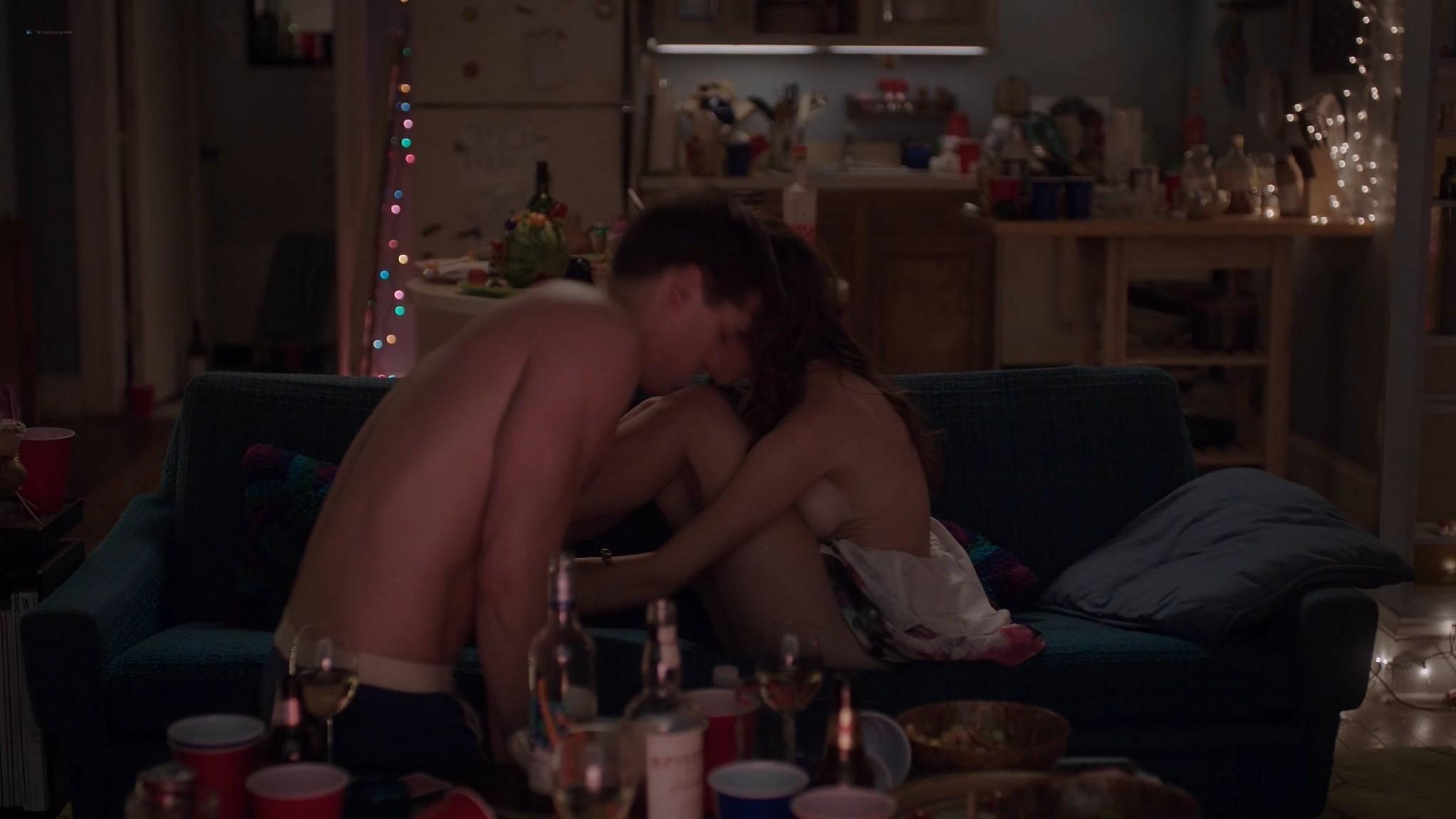 Allison Williams sex Lena Dunham nude Zosia Mamet hot Jemima Kirke nude Girls 2012 s2e1 5 1080p Web 2