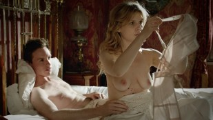 Clémence Poésy nude brief topless and sex and Kata Petro nude topless and sex - Birdsong (2012) 1x2 HD 1080p BluRay