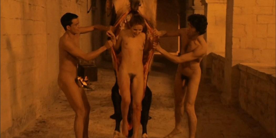 Florinda Bolkan nude Raika Juri nude full frontal and sex Flavia the Heretic 1974 1080p BluRay 15