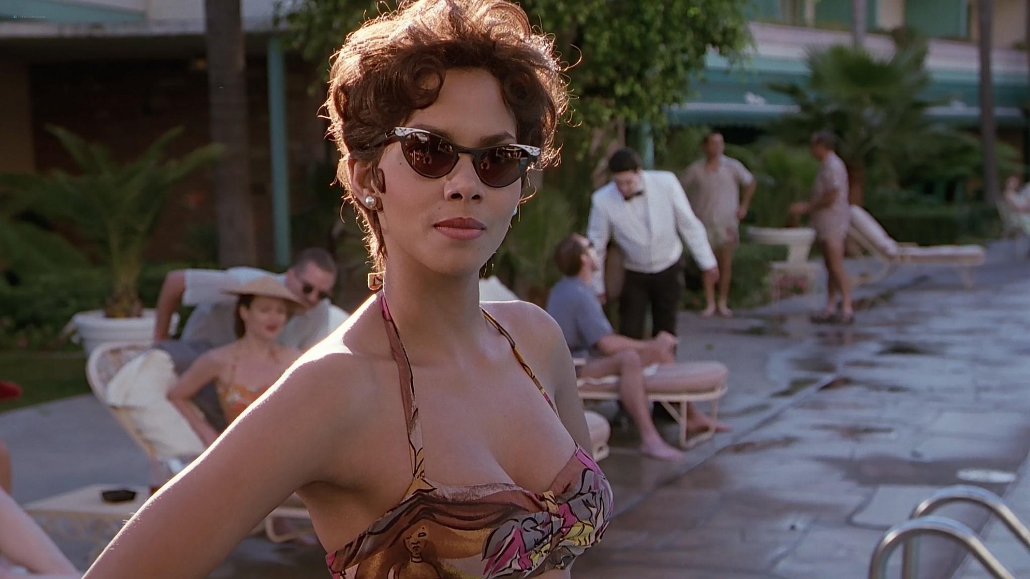 Halle Berry nude nip slip Introducing Dorothy Dandridge 1999 1080p Web 15