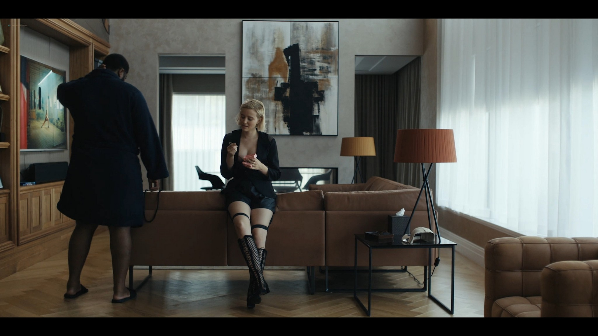 Julia Goldani Telles hot and sex The Girlfriend Experience 2021 s3e4 1080p Web 4