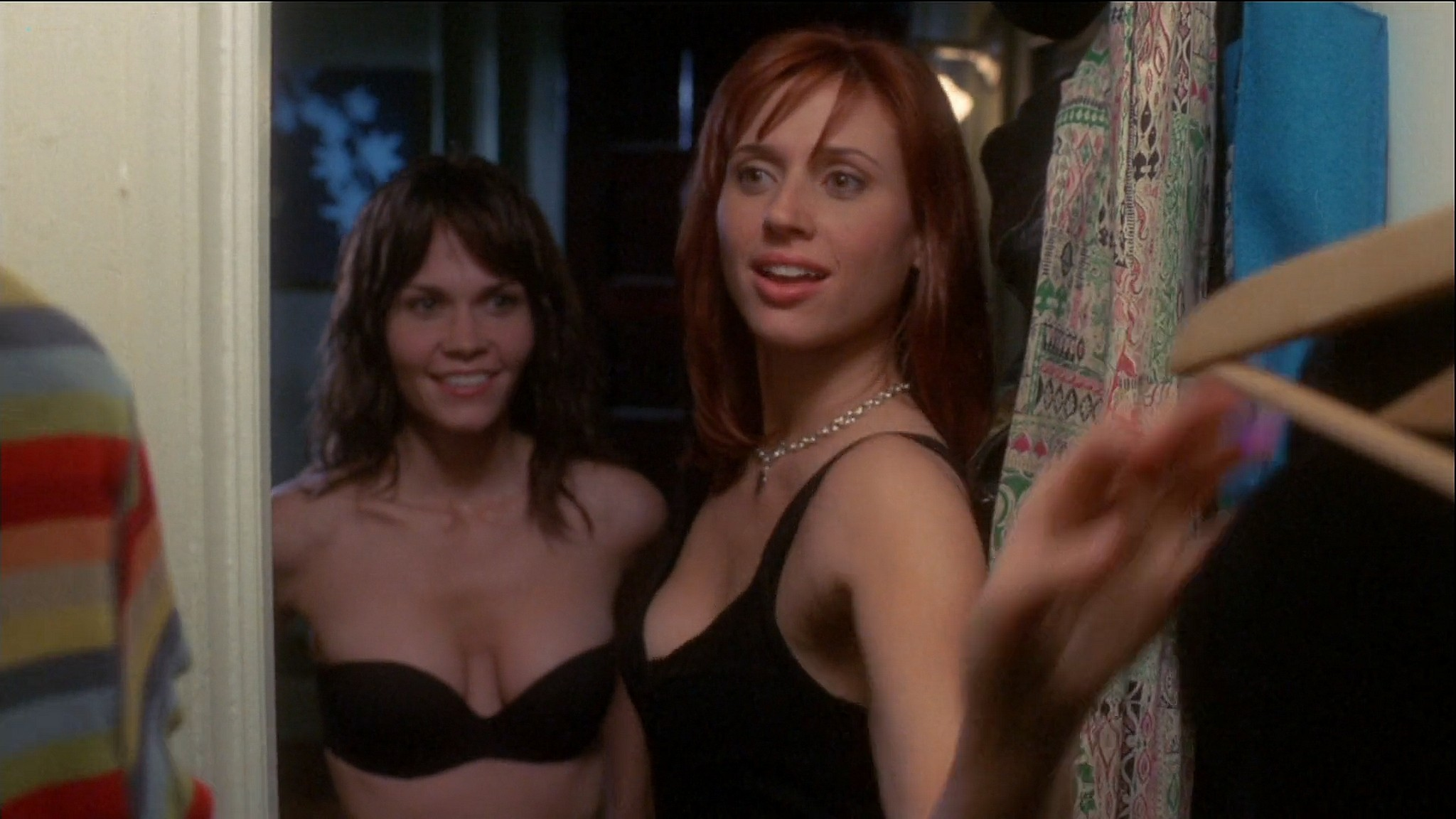 Kristen Miller hot and sex Allison Lange Brooke Burns sexy and some sex too Single White Female 2 2005 1080p Web 10