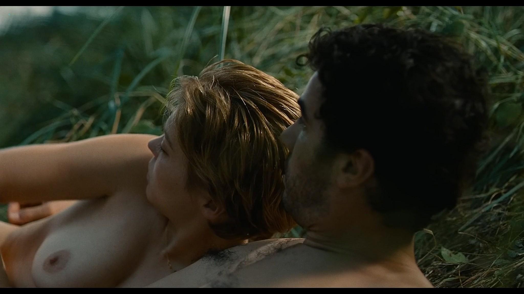 Lea Seydoux nude full frontal bush and sex Grand Central 2013 HD 1080p BluRay 13