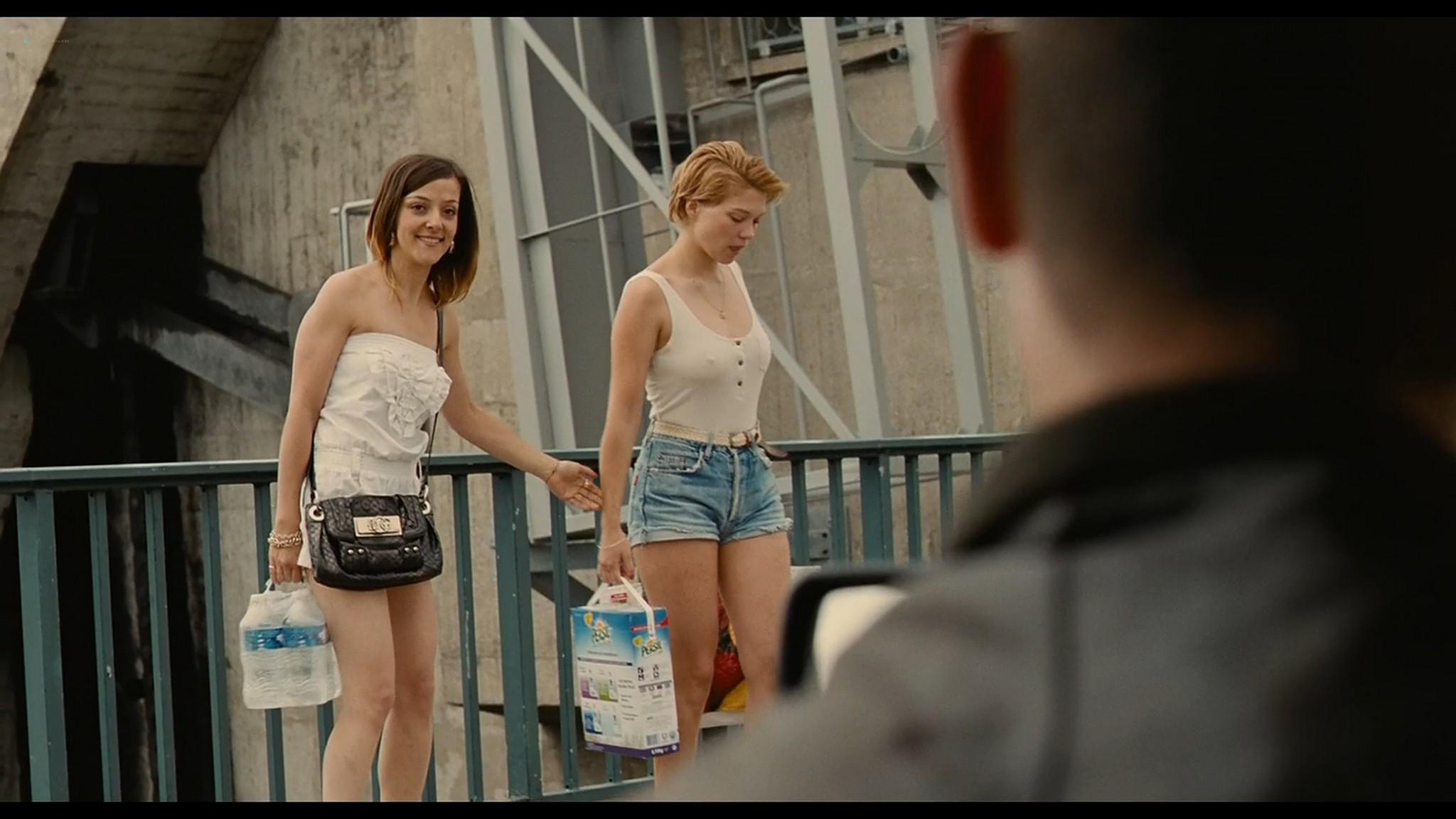 Lea Seydoux nude full frontal bush and sex Grand Central 2013 HD 1080p BluRay 2
