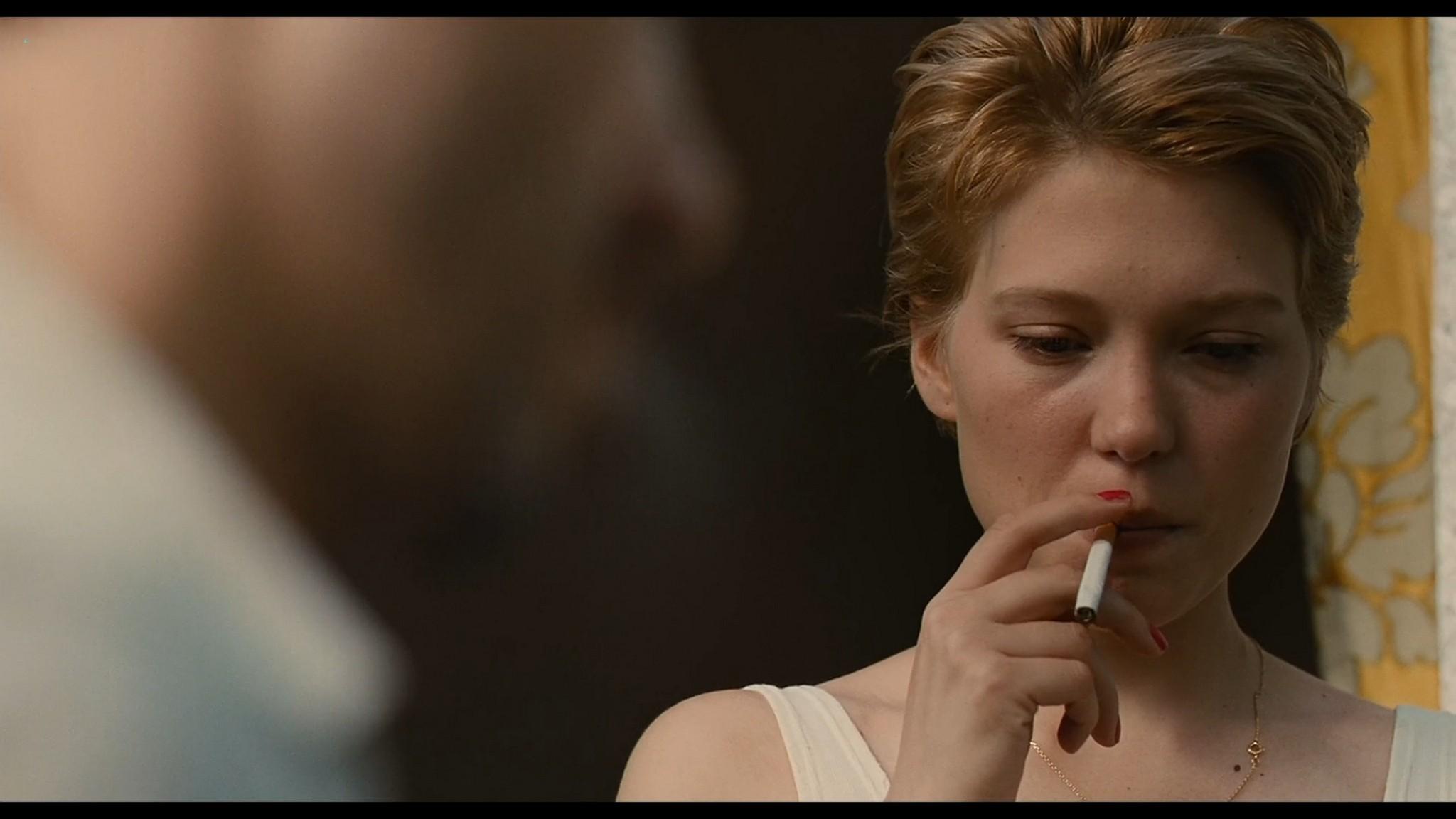 Lea Seydoux nude full frontal bush and sex Grand Central 2013 HD 1080p BluRay 8