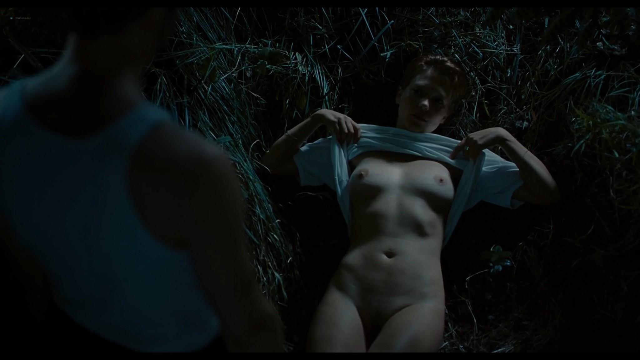 Lea Seydoux nude full frontal bush and sex Grand Central 2013 HD 1080p BluRay 9