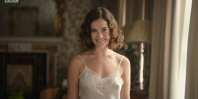 Lily James hot and sexy Emily Beecham sexy The Pursuit of Love 2021 s1e1 3 1080p Web 17