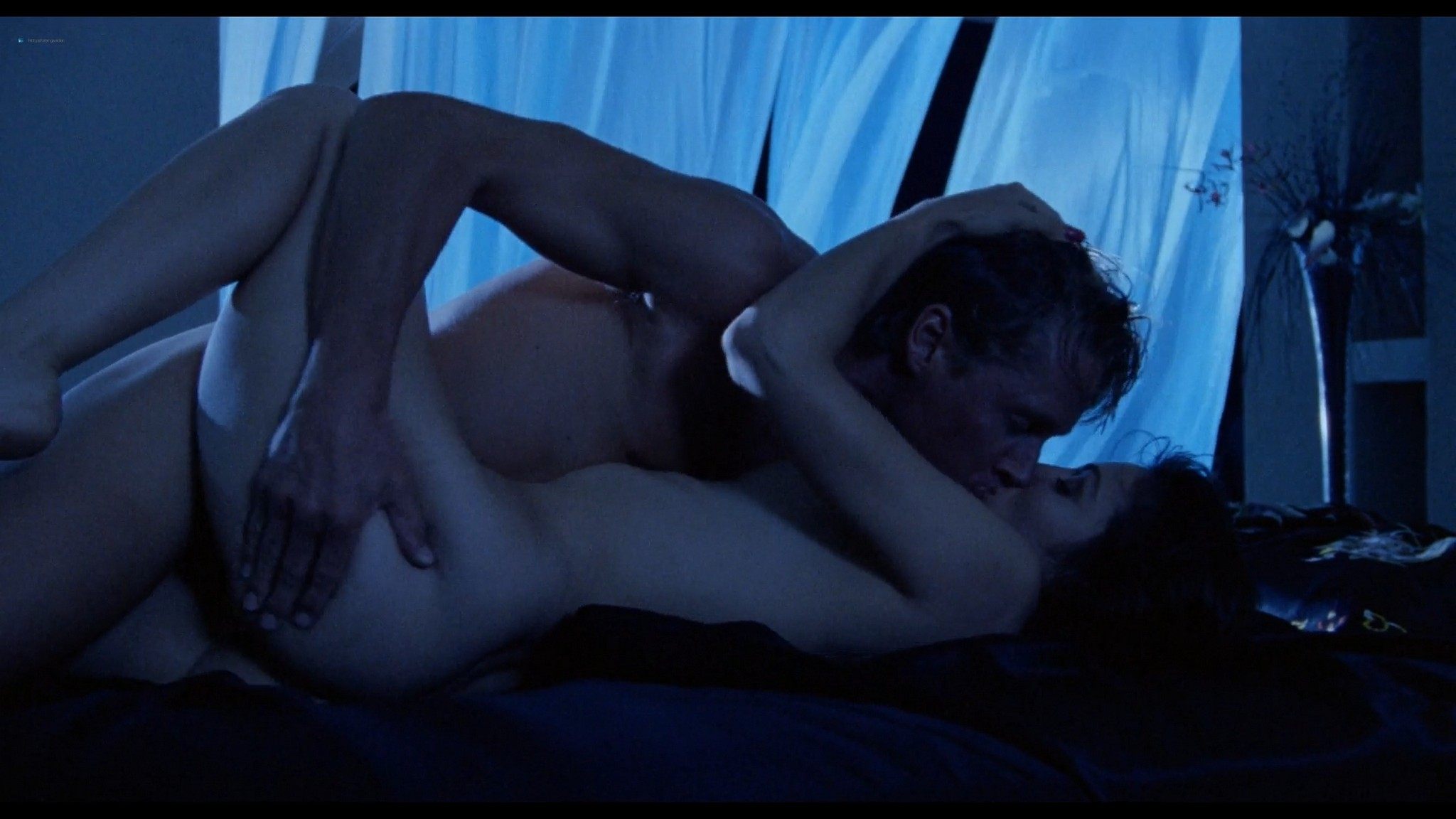 Shannon Tweed nude sex Adrienne Sachs nude sex in the shower In the Cold of the Night 1989 1080p BluRay 14