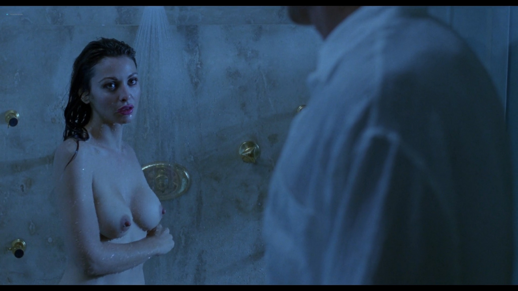 Shannon Tweed nude sex Adrienne Sachs nude sex in the shower In the Cold of the Night 1989 1080p BluRay 8