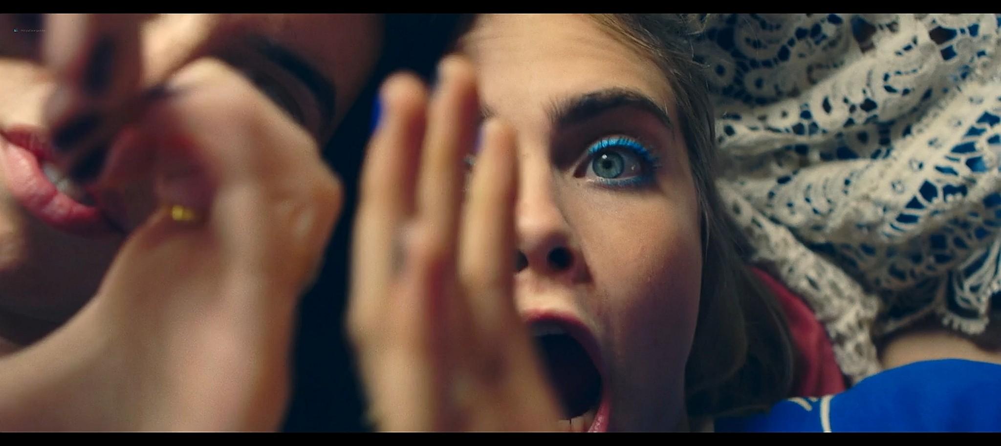 Alma Jodorowsky nude brief topless and Cara Delevingne cute Kids in Love 2016 HD 1080p BluRay 12