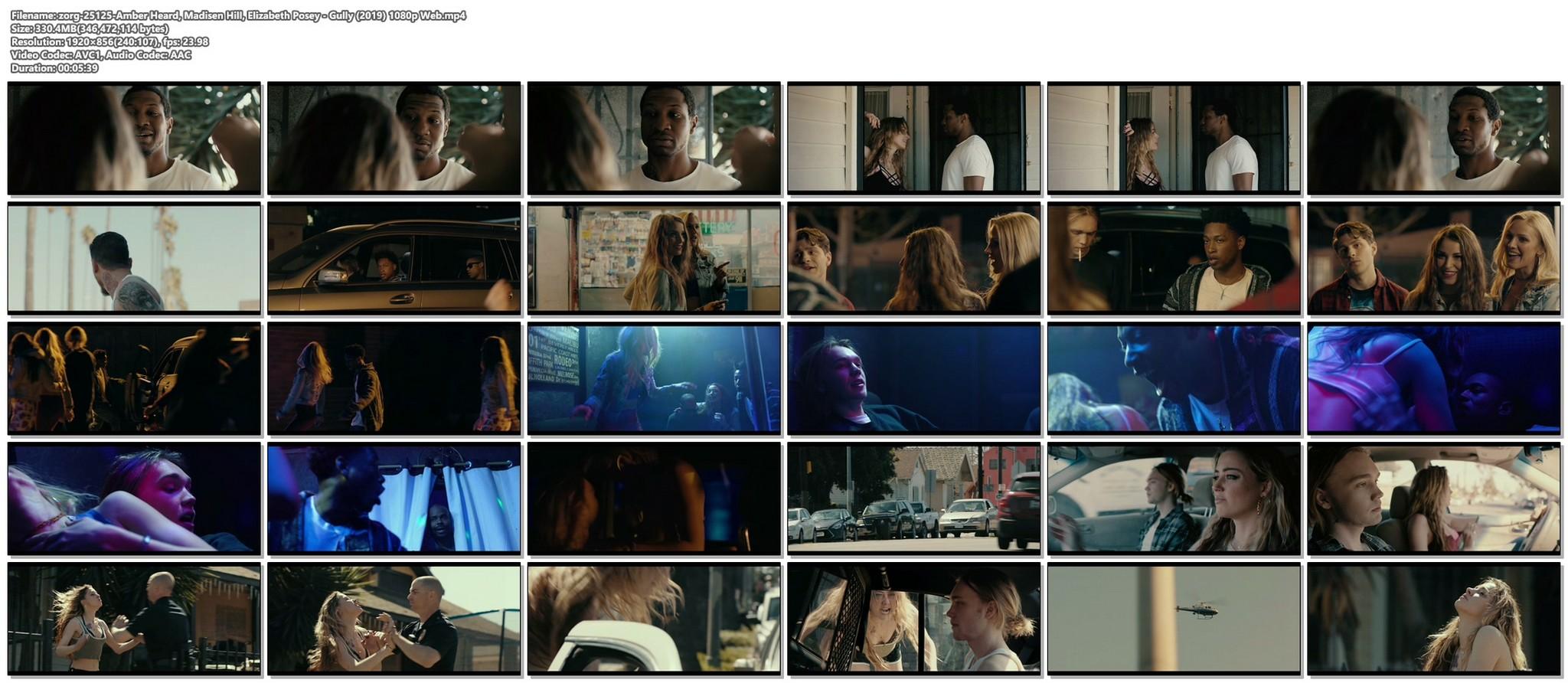 Amber Heard hot Madisen Hill Elizabeth Posey sexy Gully 2019 1080p Web 17